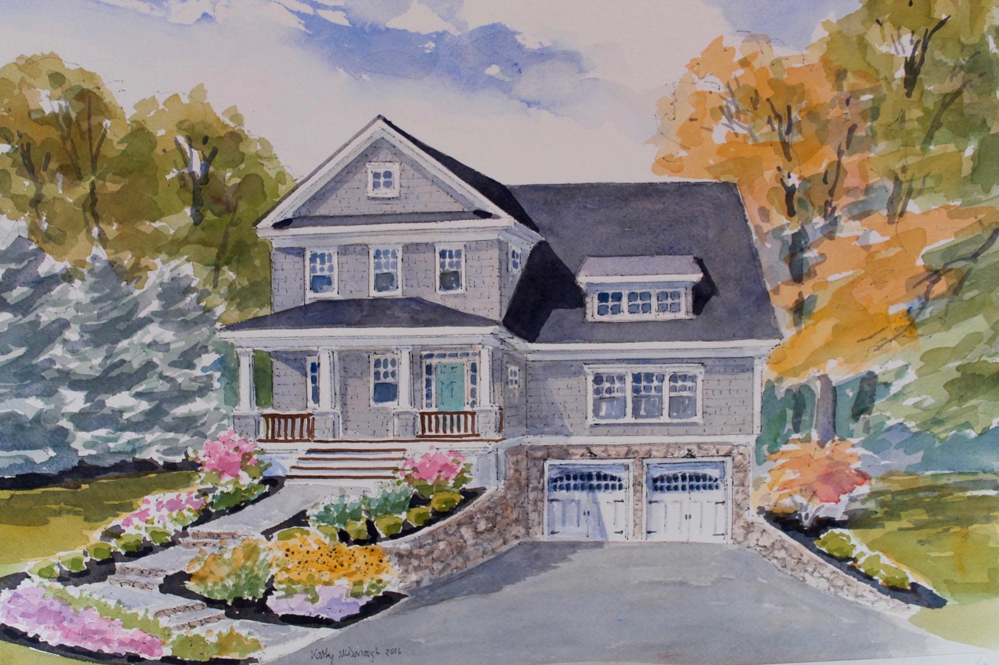 Maison unifamiliale pour l Vente à Custom Shingle-Style Home 25 Crescent Street Wellesley, Massachusetts, 02482 États-Unis