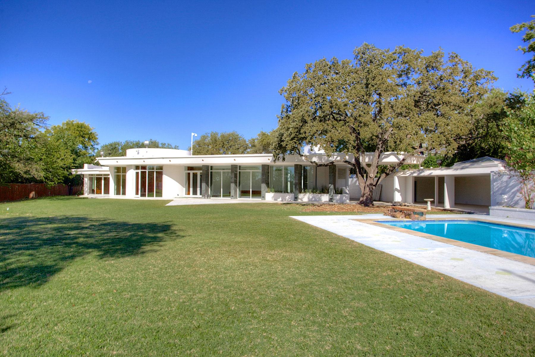 Tek Ailelik Ev için Satış at Mid-Century Modern Masterpiece by A. Quincy Jones 4167 Charron Lane Fort Worth, Teksas, 76116 Amerika Birleşik Devletleri