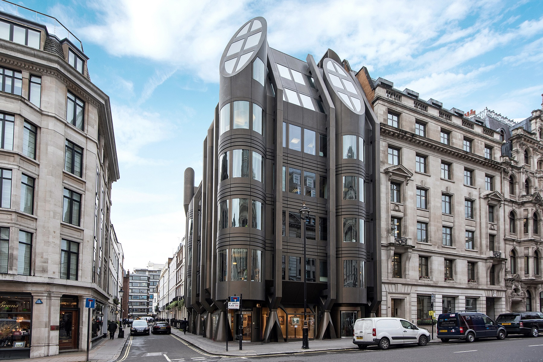 sales property at St James's Street