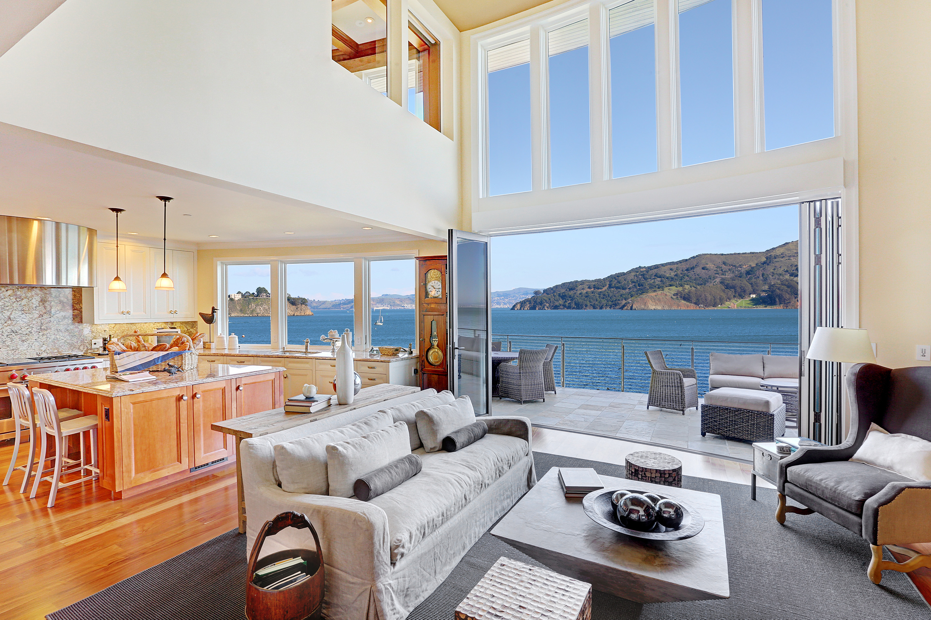 Single Family Home for Sale at Rare Sausalito Waterfront Luxury Home 40 Alexander Avenue Sausalito, 94965 United States