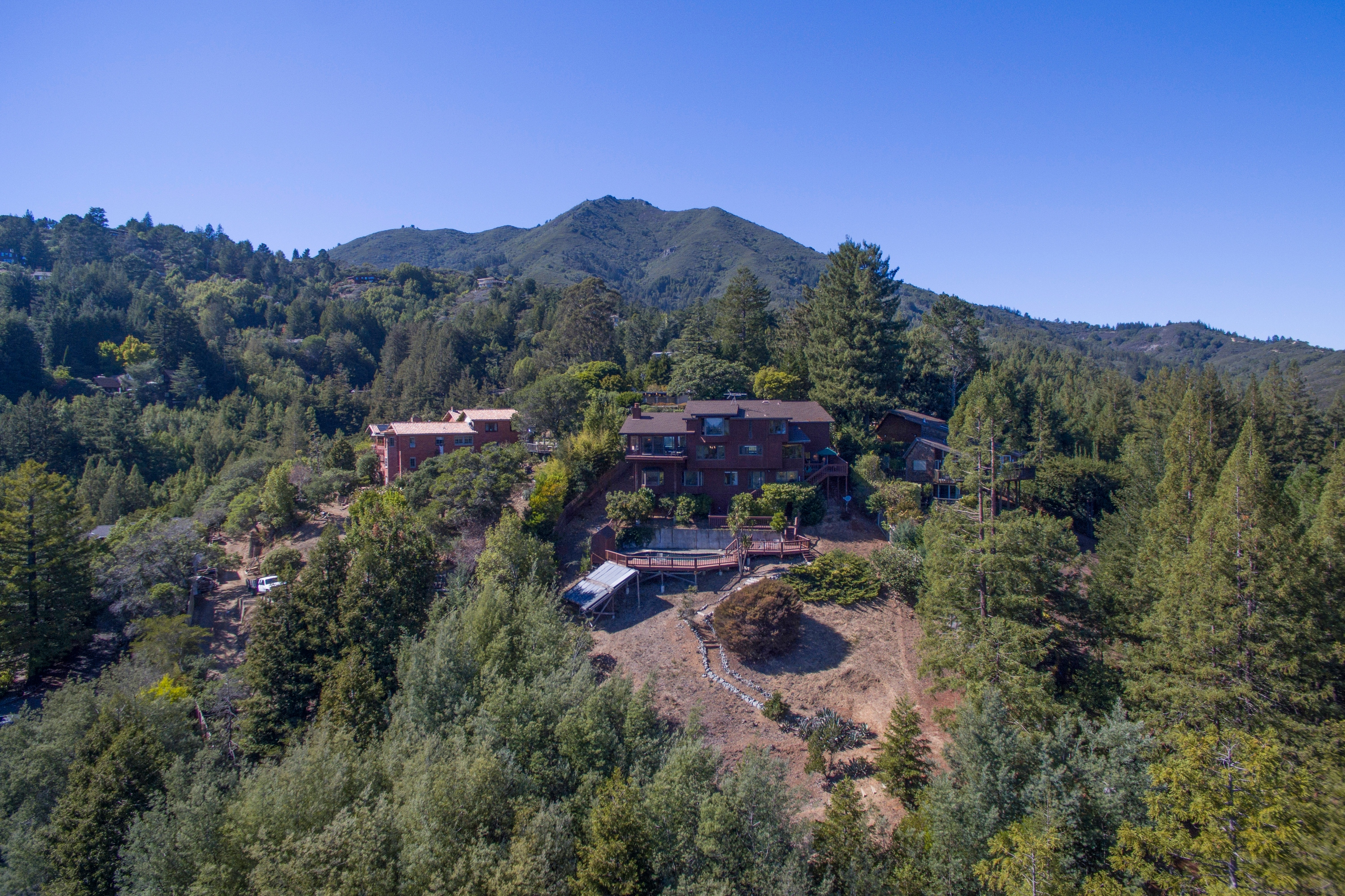 Single Family Home for Sale at Mill Valley Home with Heavenly View! 16 Manzanita Place Mill Valley, California 94941 United States