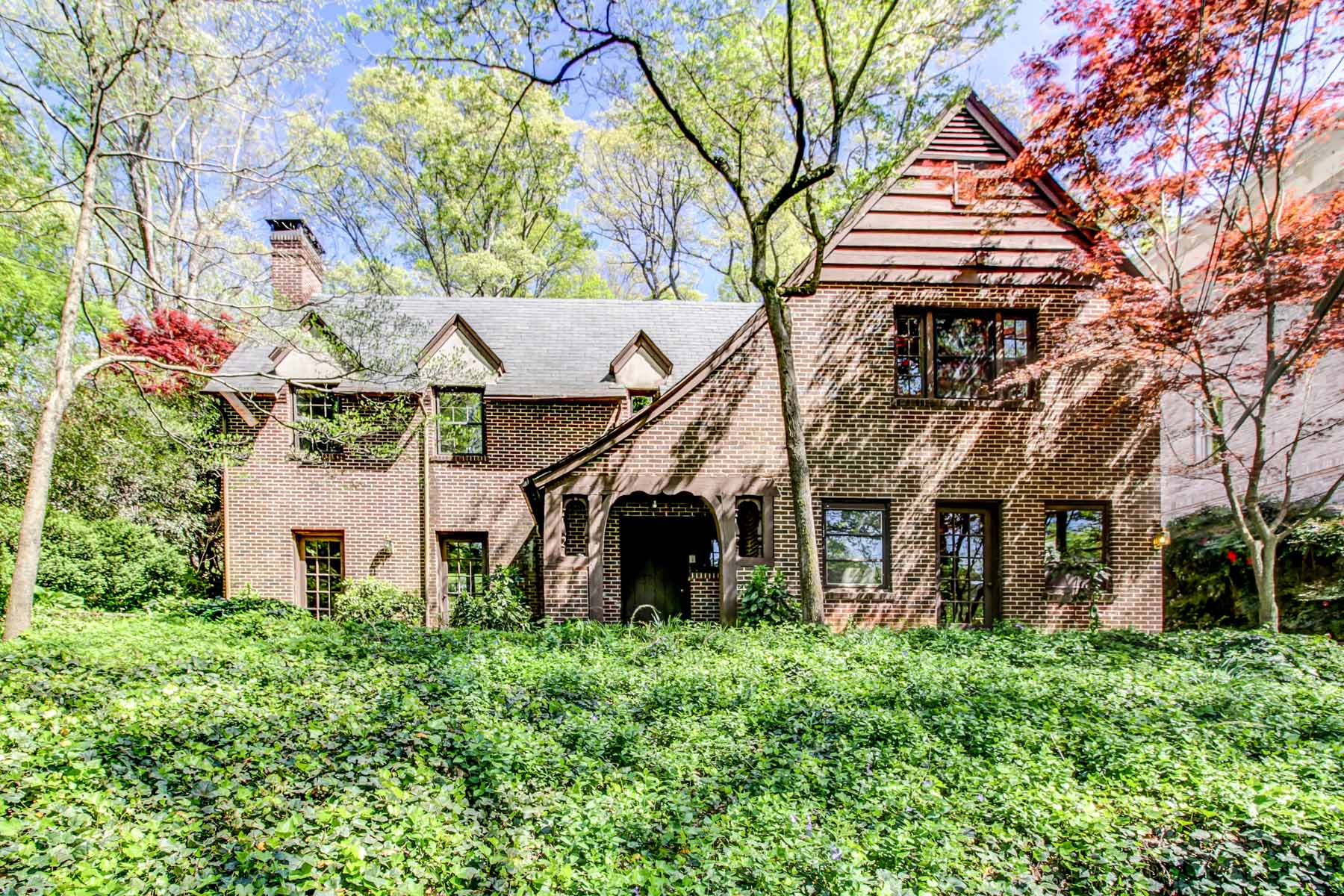 sales property at Historic 1924 Custom Built Tudor on estate lot with authentic Tudor architecture