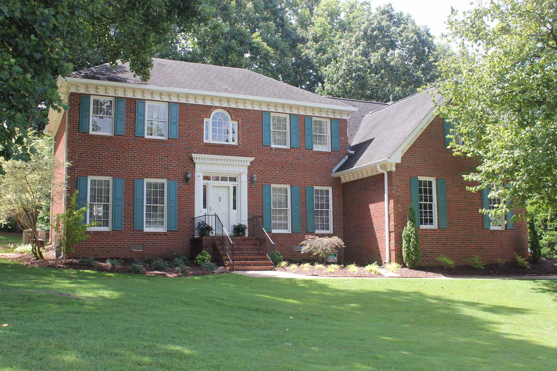 Maison unifamiliale pour l Vente à Stately Four Bedroom on Cul-De-Sac 3424 Townley Place Lawrenceville, Georgia, 30044 États-Unis