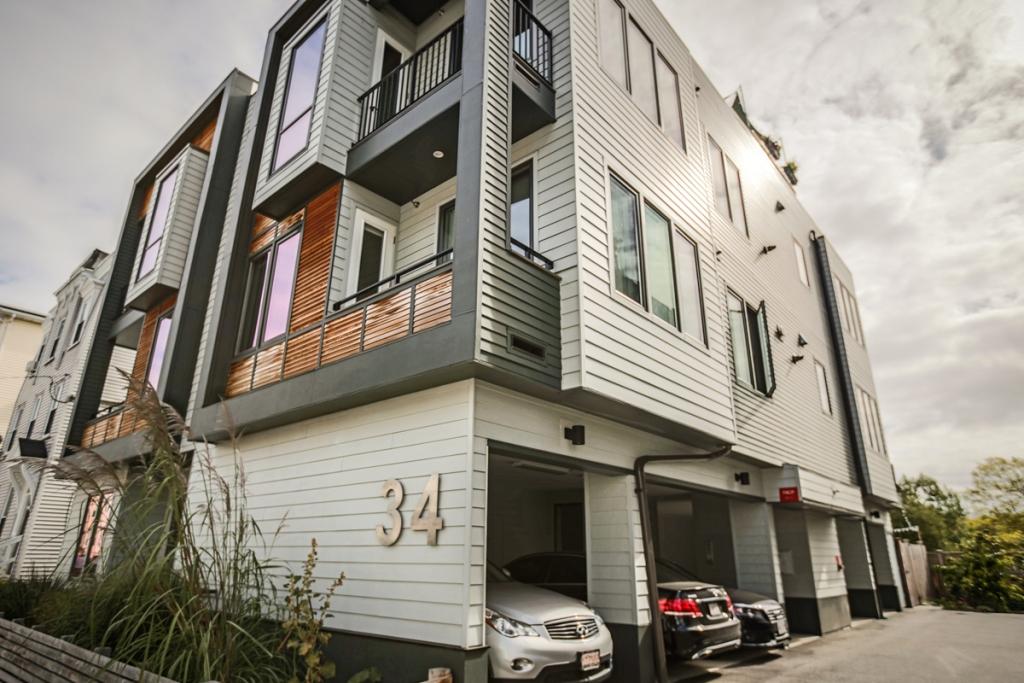 共管物業 為 出售 在 34-40 Chestnut Avenue Condominiums 34 Chestnut Avenue #202 Jamaica Plain, Boston, 麻塞諸塞州 02130 美國