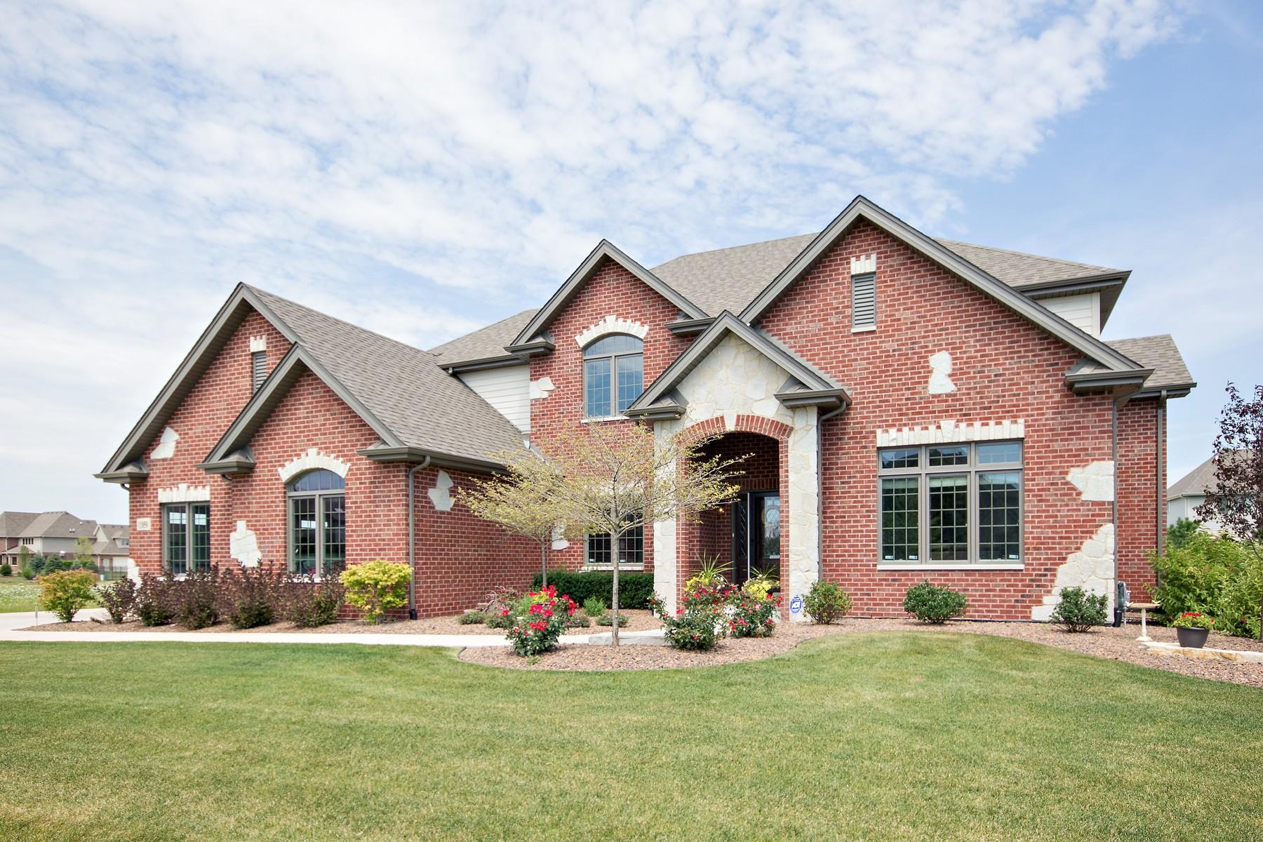 단독 가정 주택 용 매매 에 Unique Frankfort Home 11850 Alana Lane Frankfort, 일리노이즈 60423 미국