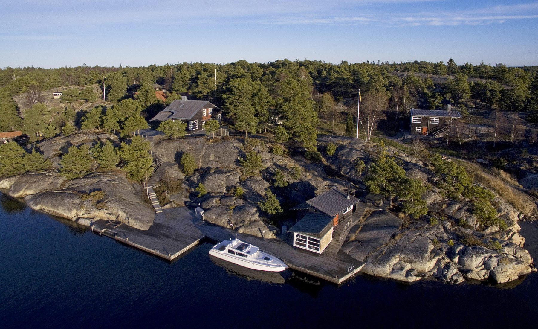 Single Family Home for Sale at Exclusive waterfront property Other Stockholm, Stockholm, Sweden