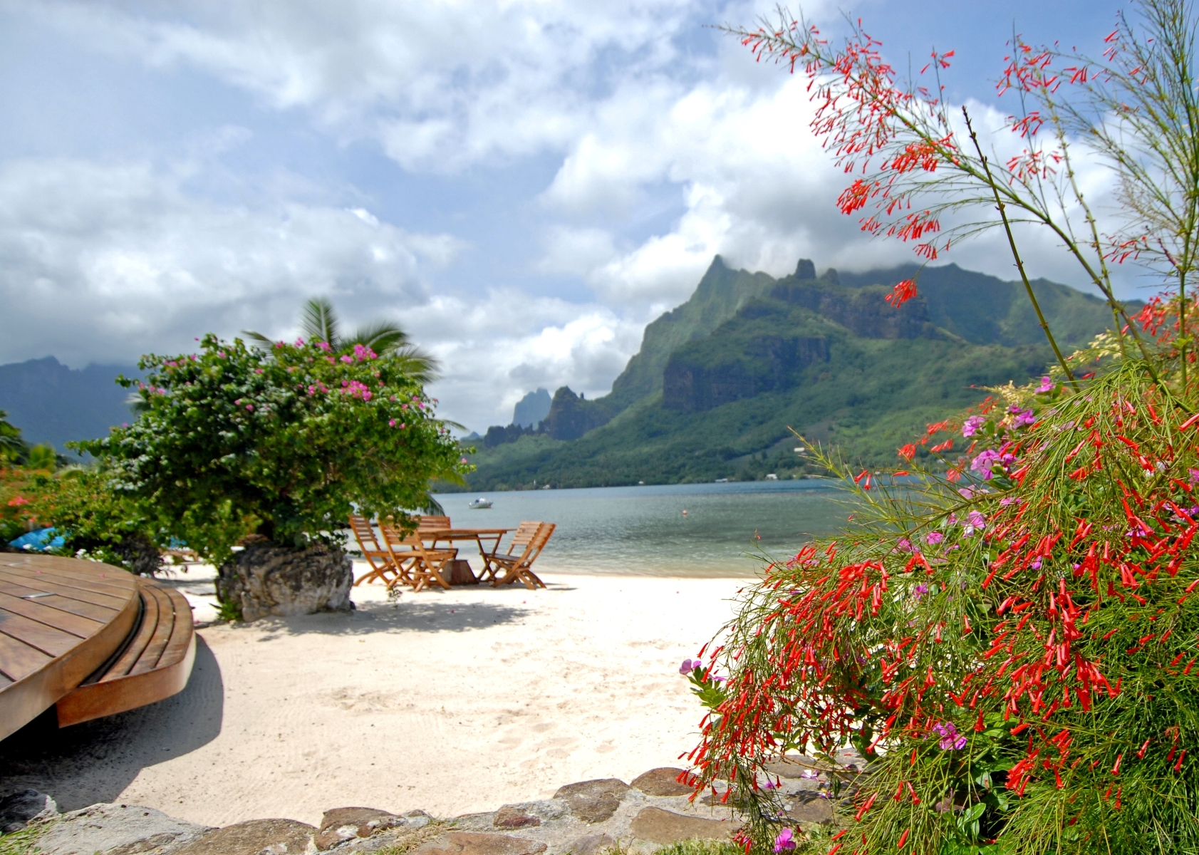 Multi-Family Home for Sale at Incomparable beachfront property Maharepa, Moorea French Polynesia