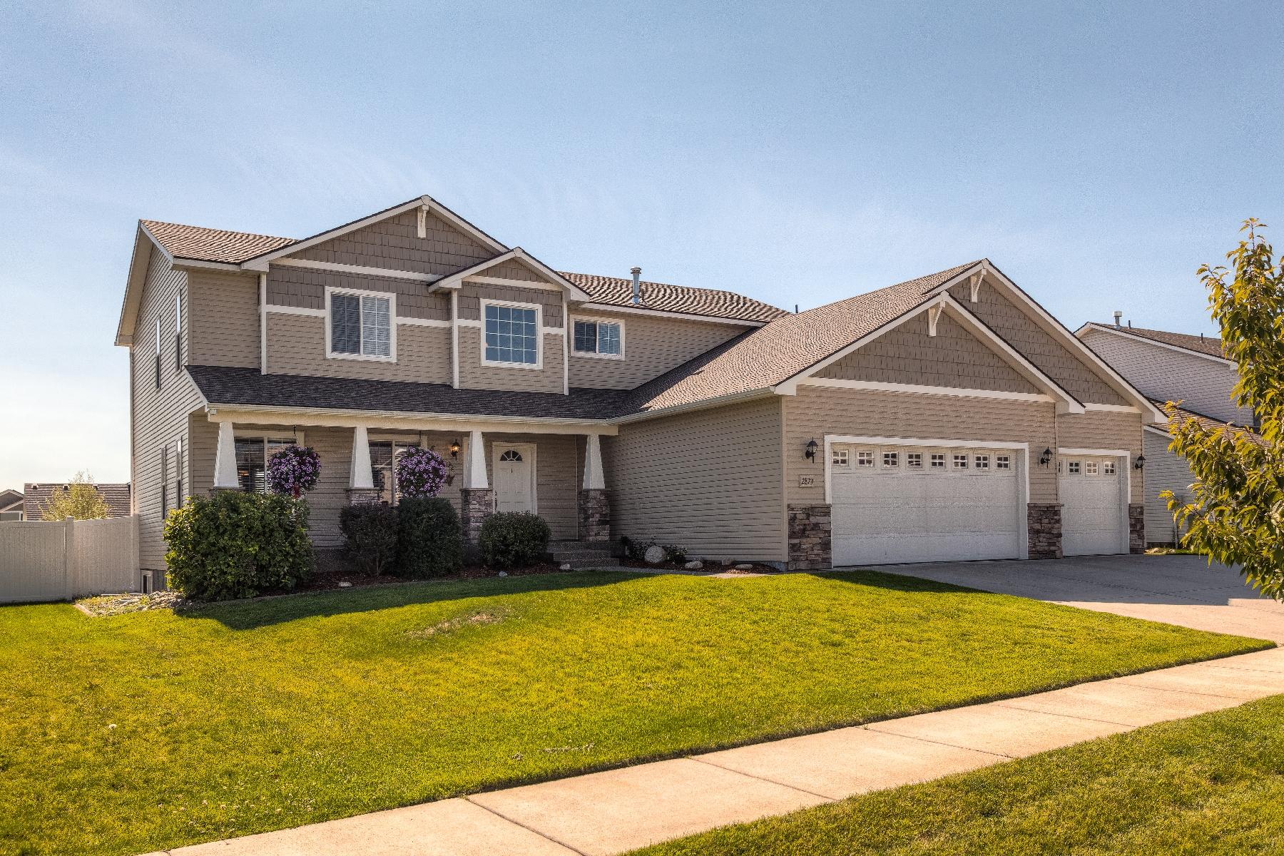 Maison unifamiliale pour l Vente à Beautiful Family Home in The Landings 2879 W Thorndale Coeur D Alene, Idaho 83814 États-Unis
