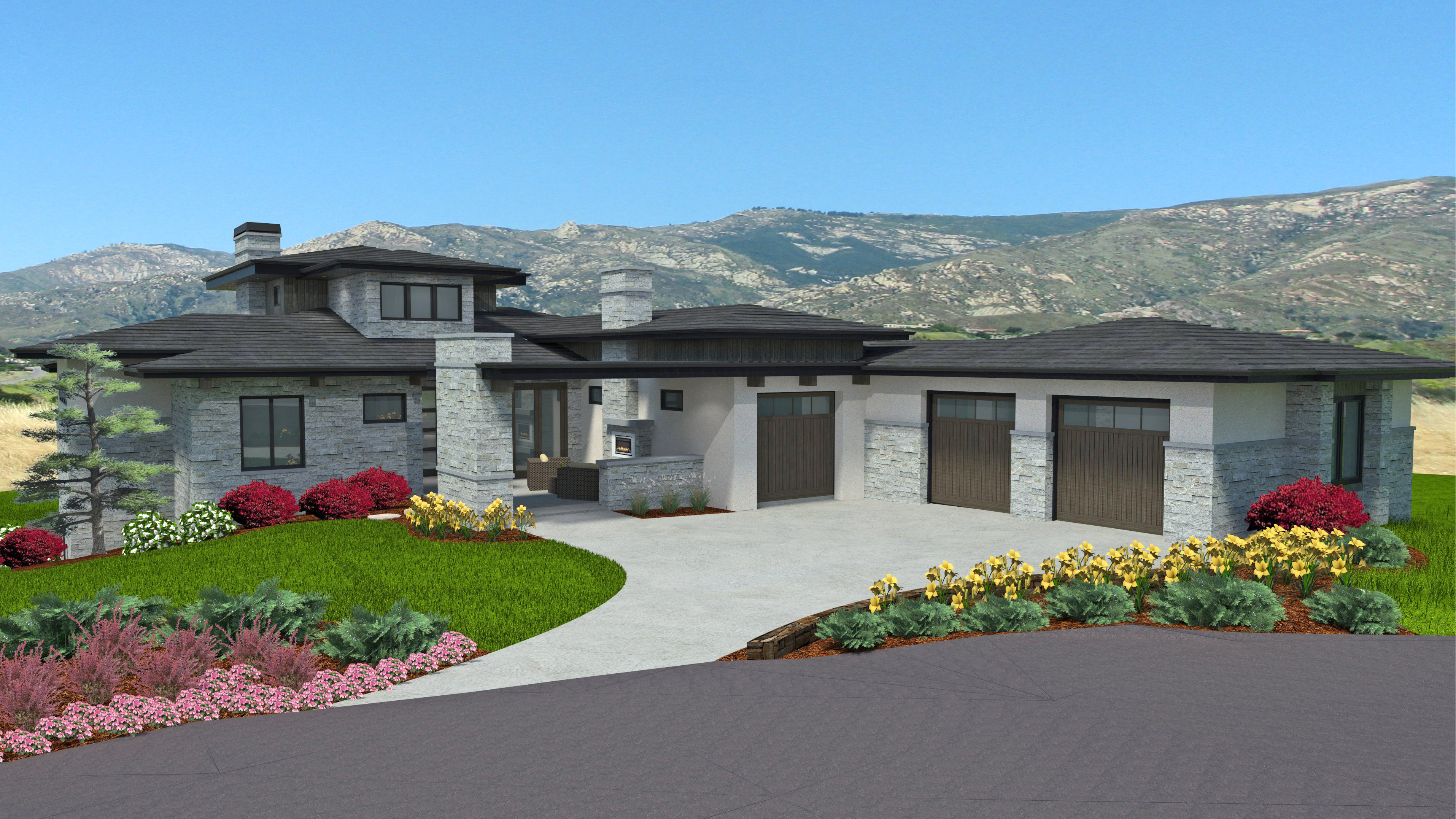 sales property at Contemporary, innovative, forward looking home