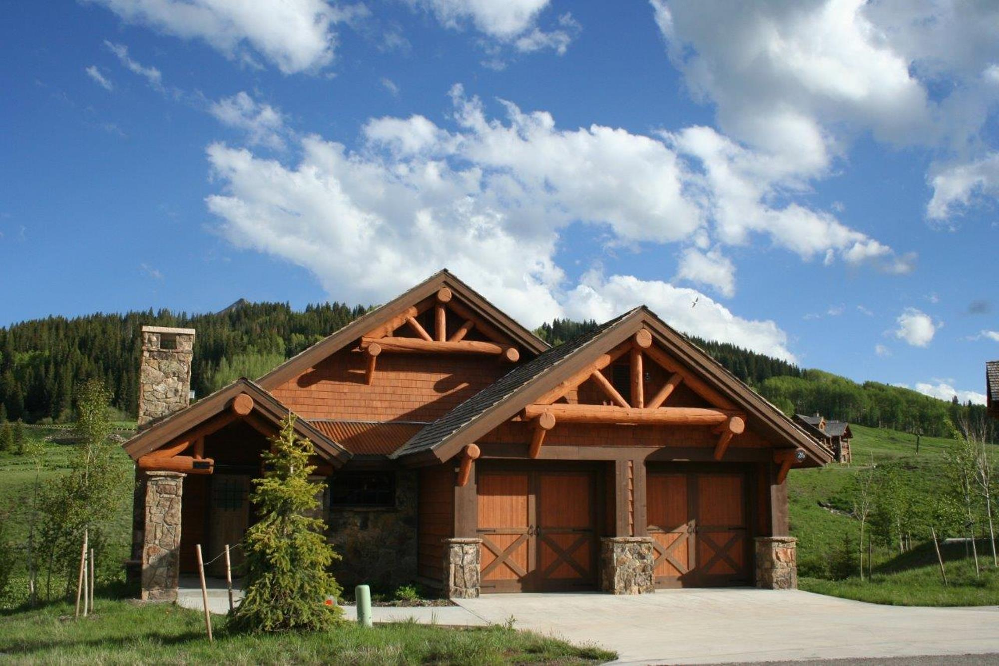 Single Family Home for Sale at Mountain Home Near Ski Resort 26 Appaloosa Road Crested Butte, Colorado, 81225 United States