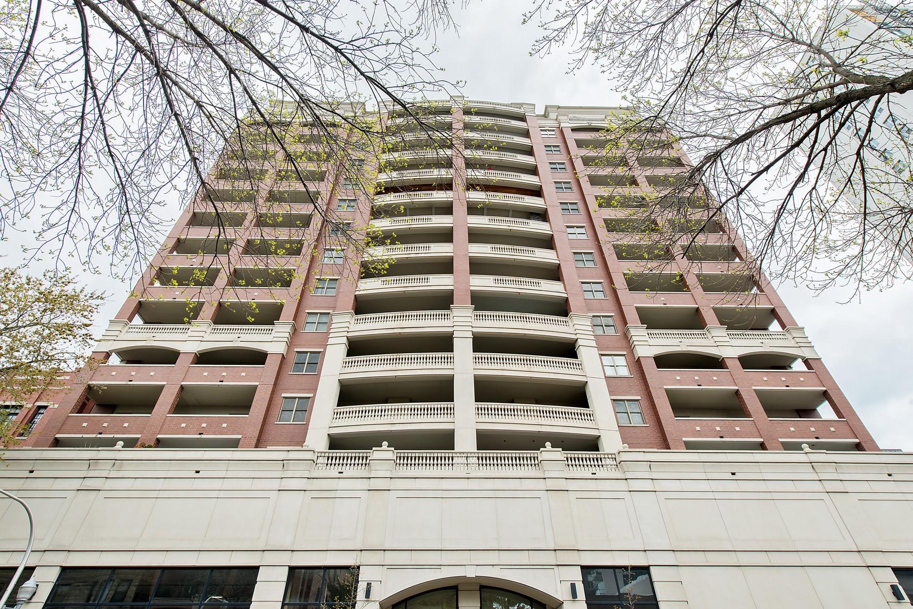 Tek Ailelik Ev için Satış at Corner Unit in Lakeview Boutique Building 828 W Grace Street Unit 804 Lakeview, Chicago, Illinois, 60613 Amerika Birleşik Devletleri