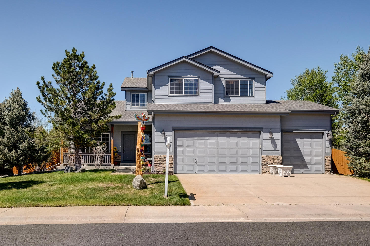 Single Family Home for Sale at Spectacular lot backs to open space 21745 Mount Elbert Pl Parker, Colorado, 80138 United States