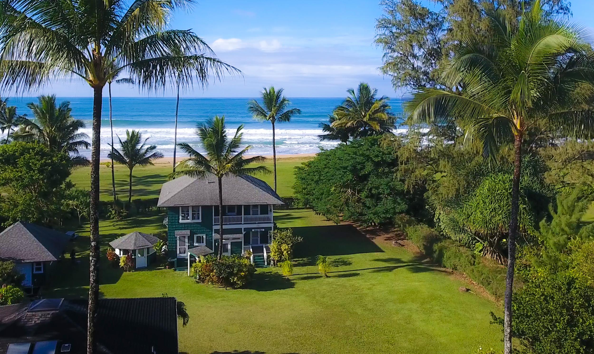 단독 가정 주택 용 매매 에 Hale Ola 5372 Weke Rd Hanalei, 하와이, 96714 미국