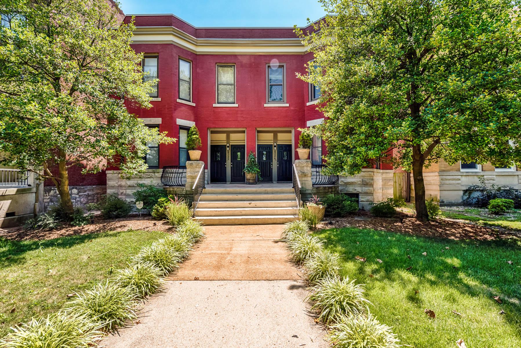 Condominium for Sale at West Pine #A 4324 West Pine #A St. Louis, Missouri 63108 United States