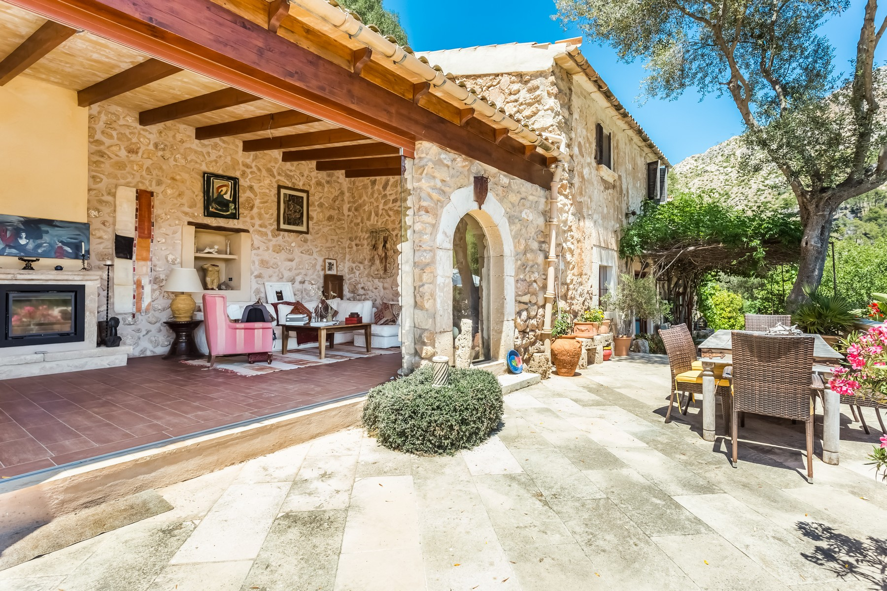 단독 가정 주택 용 매매 에 Finca near Port Andratx in a fantastic location Andratx, 말로카, 07157 스페인