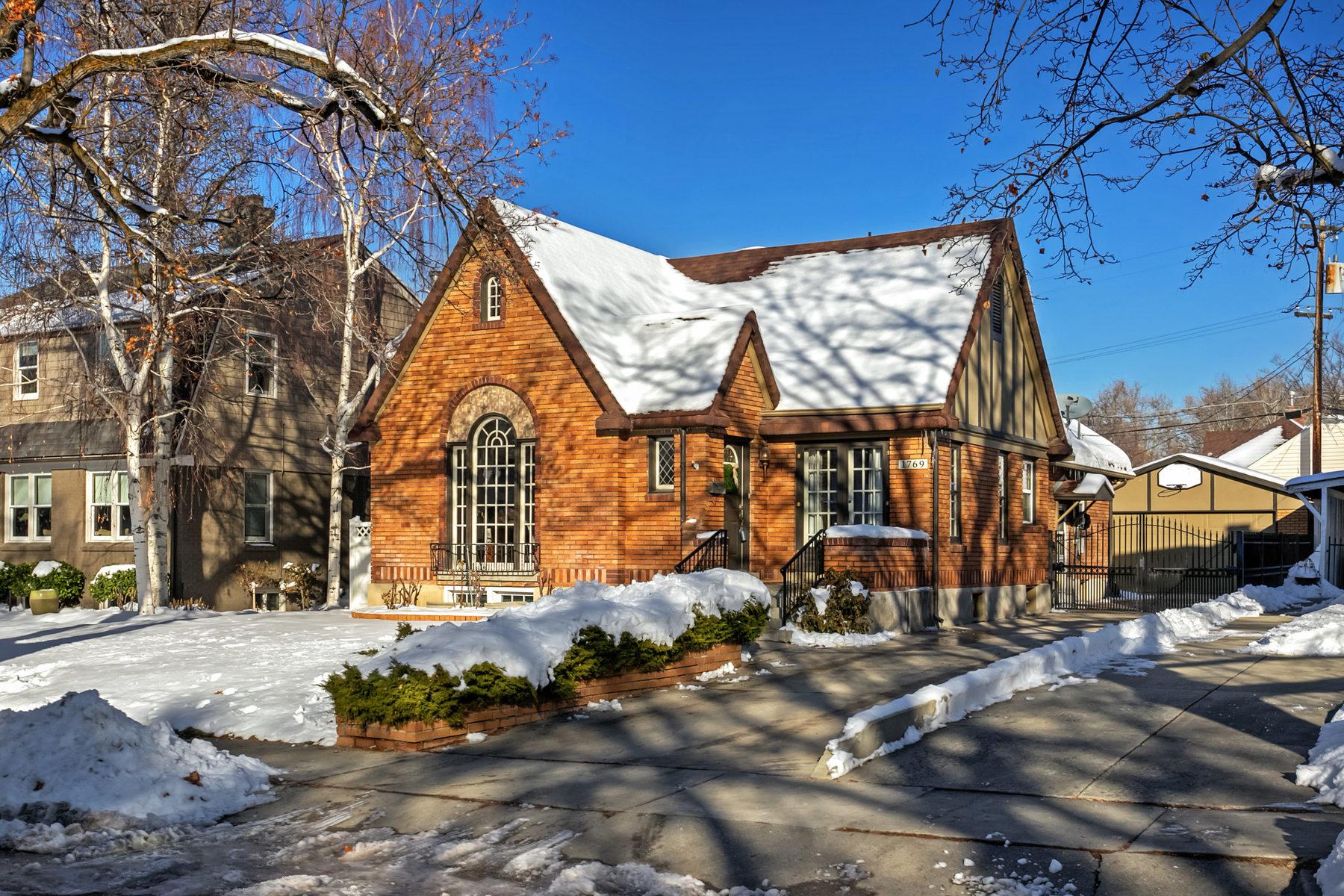 Single Family Home for Sale at Upper Yale Tudor 1769 E Herbert Ave Salt Lake City, Utah, 84108 United States