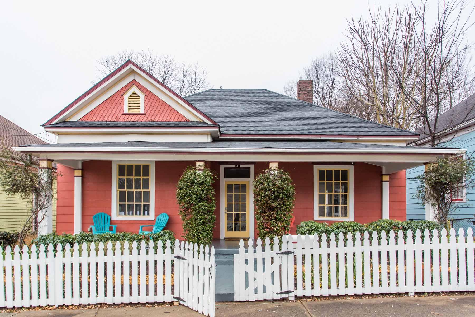 一戸建て のために 売買 アット Light Filled Cabbagetown Bungalow 241 Powell Street Cabbagetown, Atlanta, ジョージア 30316 アメリカ合衆国