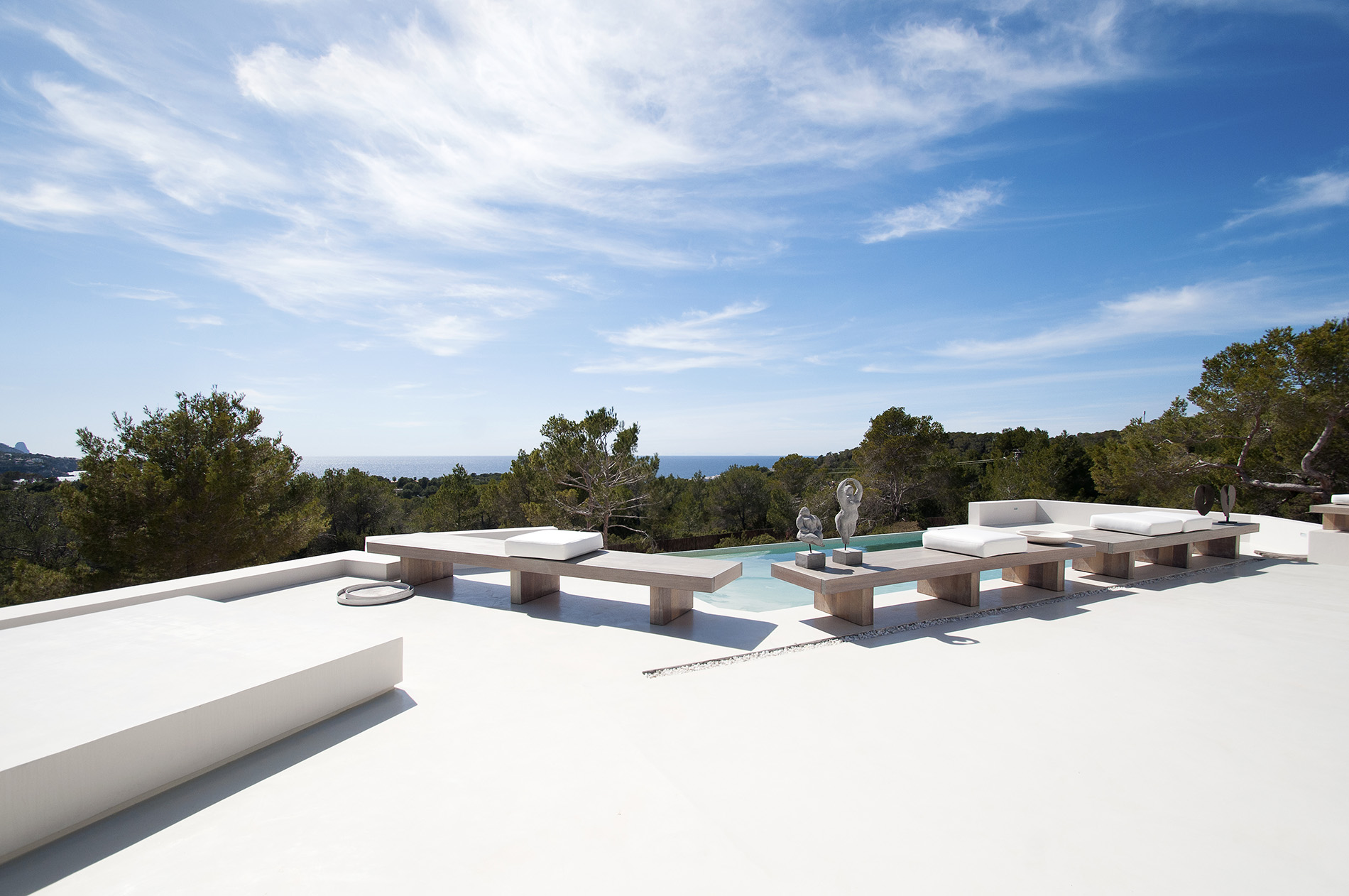 独户住宅 为 销售 在 Designer Villa With Sea And Sunset Views Ibiza 何塞普, 西亚特, 07830 西班牙