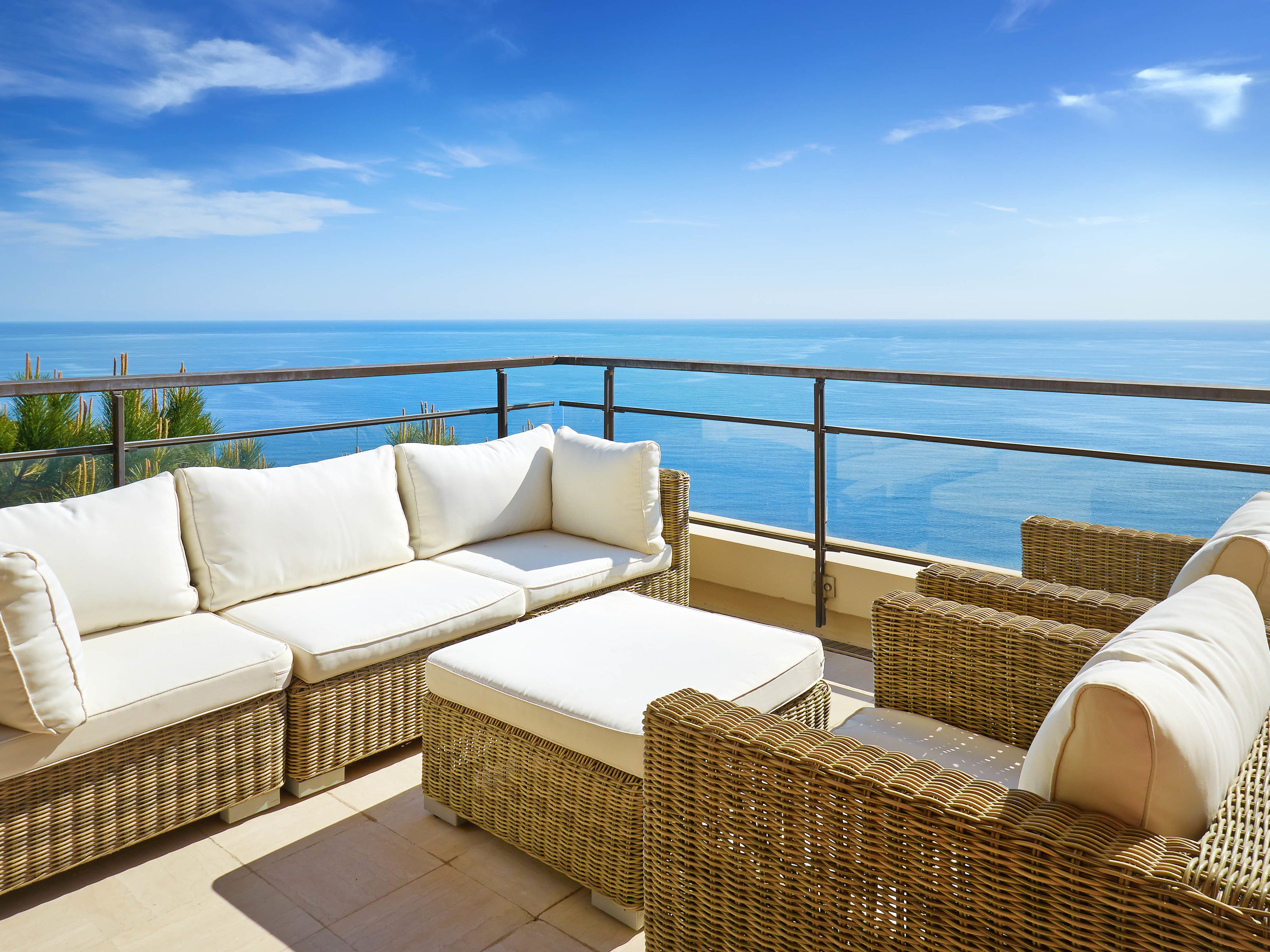 Single Family Home for Sale at Luxury duplex apartment with large terraces and panoramic sea view Nice, Provence-Alpes-Cote D'Azur 06300 France