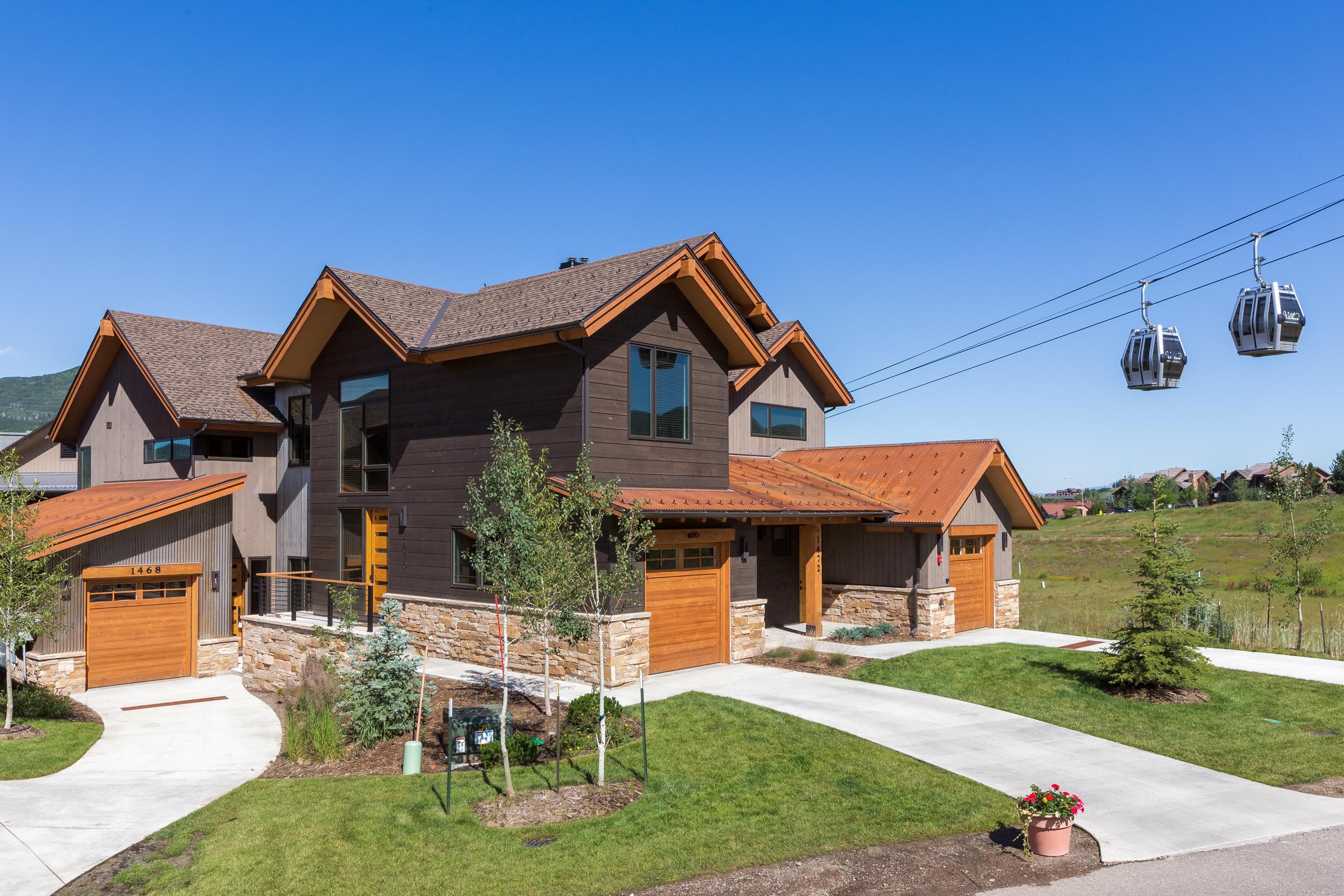 Copropriété pour l Vente à Homestead at Wildhorse Meadows 1470 Bangtail Way Steamboat Springs, Colorado, 80487 États-Unis