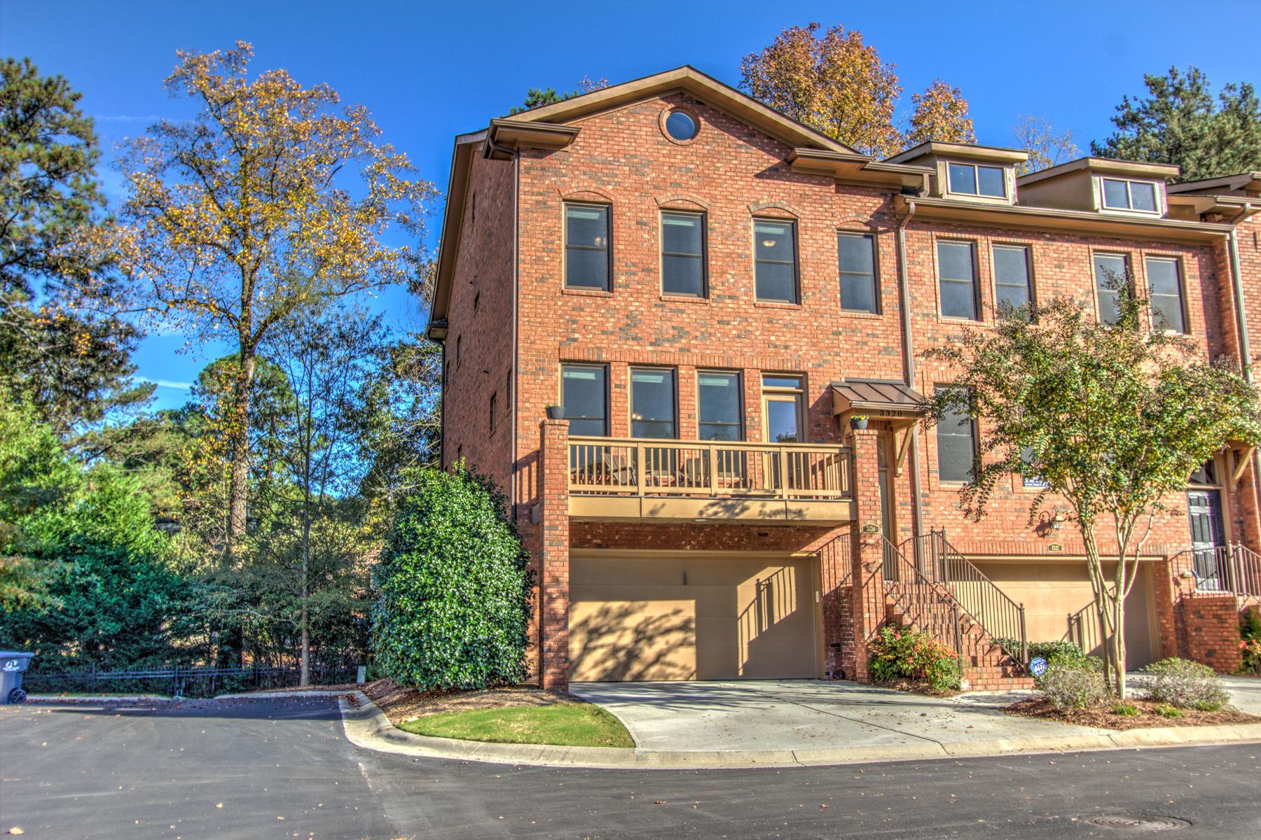 タウンハウス のために 売買 アット Extraordinary Townhouse 3320 Chestnut Woods Circle Atlanta, ジョージア 30340 アメリカ合衆国