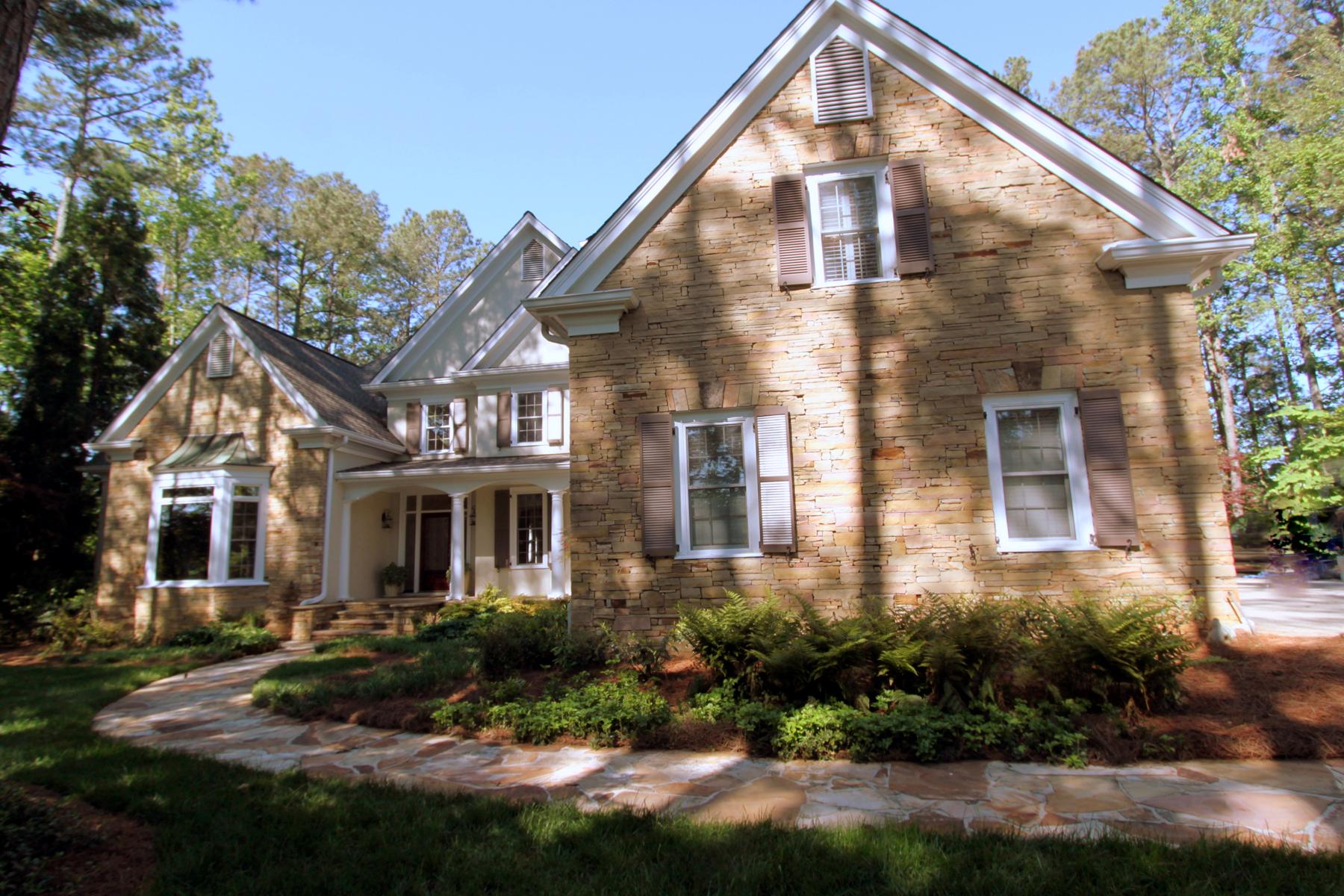 Vivienda unifamiliar por un Venta en Private Retreat in Country Club of the South 9290 Chandler Bluff Alpharetta, Georgia 30022 Estados Unidos
