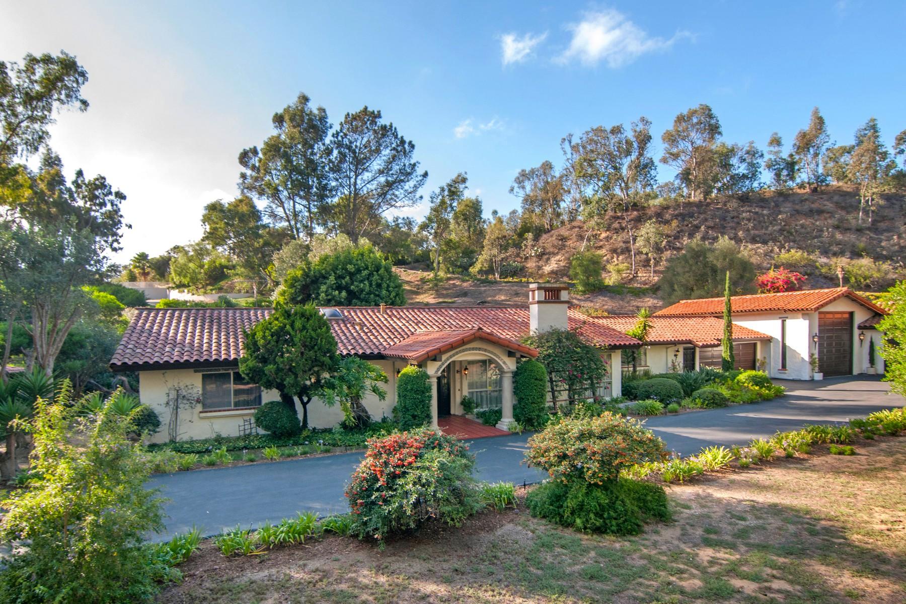 Single Family Home for Sale at 15130 El Camino Real Rancho Santa Fe, California, 92067 United States