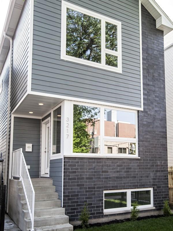 단독 가정 주택 용 매매 에 Contemporary New Construction Home 1912 N Albany Avenue Logan Square, Chicago, 일리노이즈 60647 미국