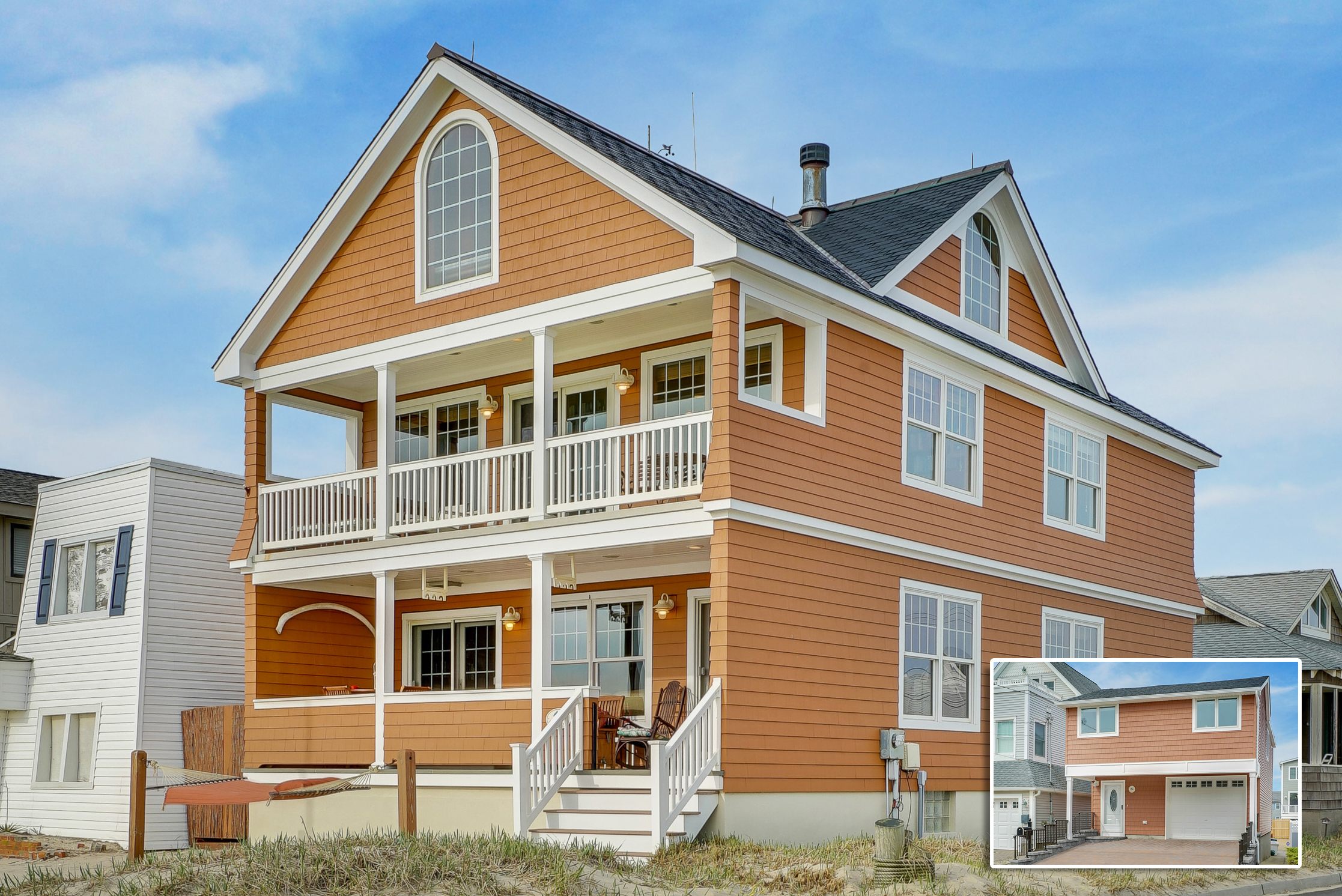 Single Family Home for Sale at A Unique Shore Offering 145 Beachfront 133 First Ave Manasquan, New Jersey, 08736 United States