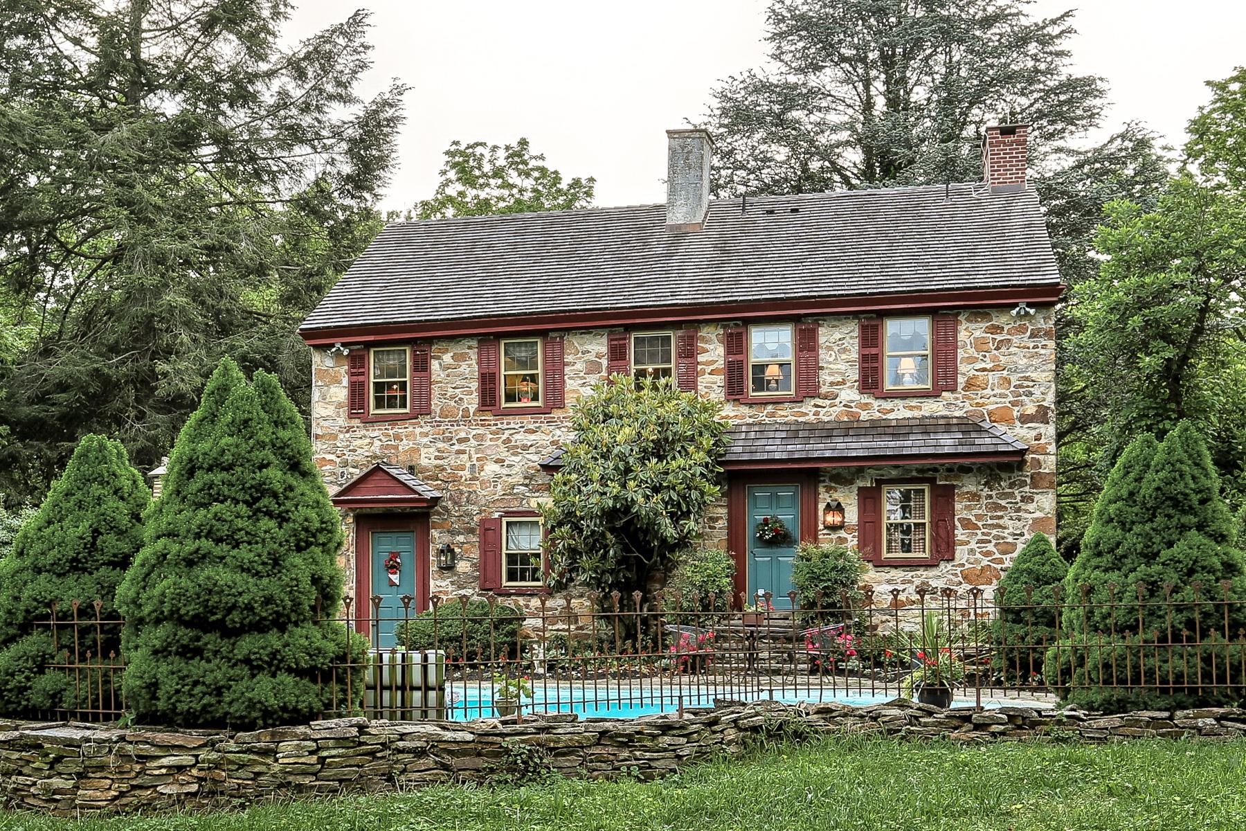 Maison unifamiliale pour l Vente à 378 Hoods Lane West Grove, Pennsylvanie, 19390 États-Unis