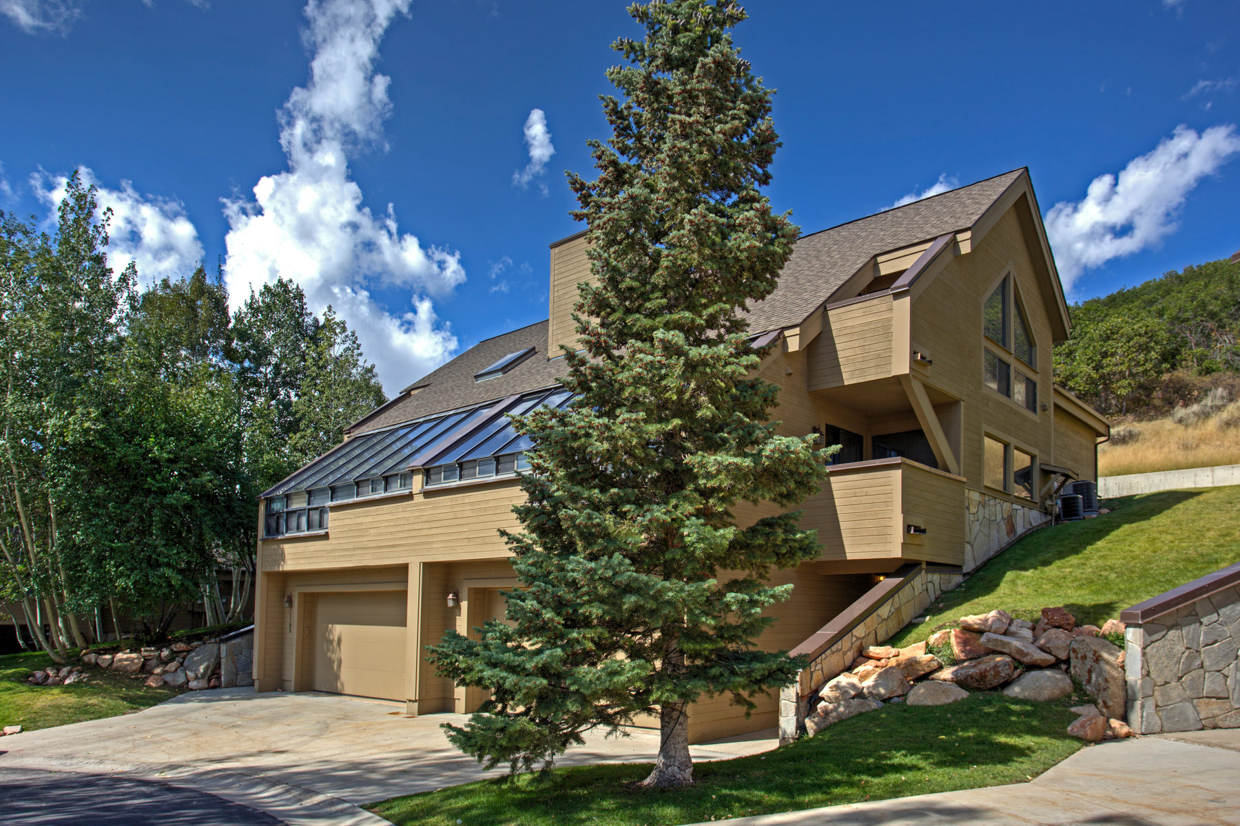 Townhouse for Sale at Daystar Townhouse Backing up to Open Space in the Snow Park Area of Deer Valley 1805 Amber Court Park City, Utah, 84060 United States