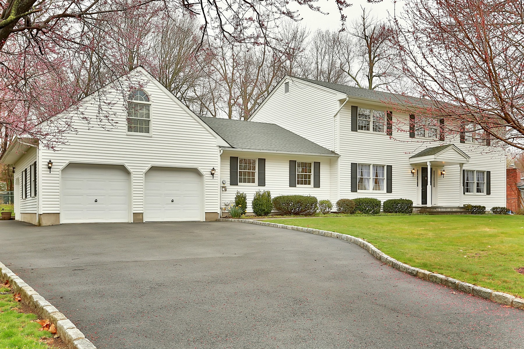 sales property at Beautifully maintained Center Hall Colonial