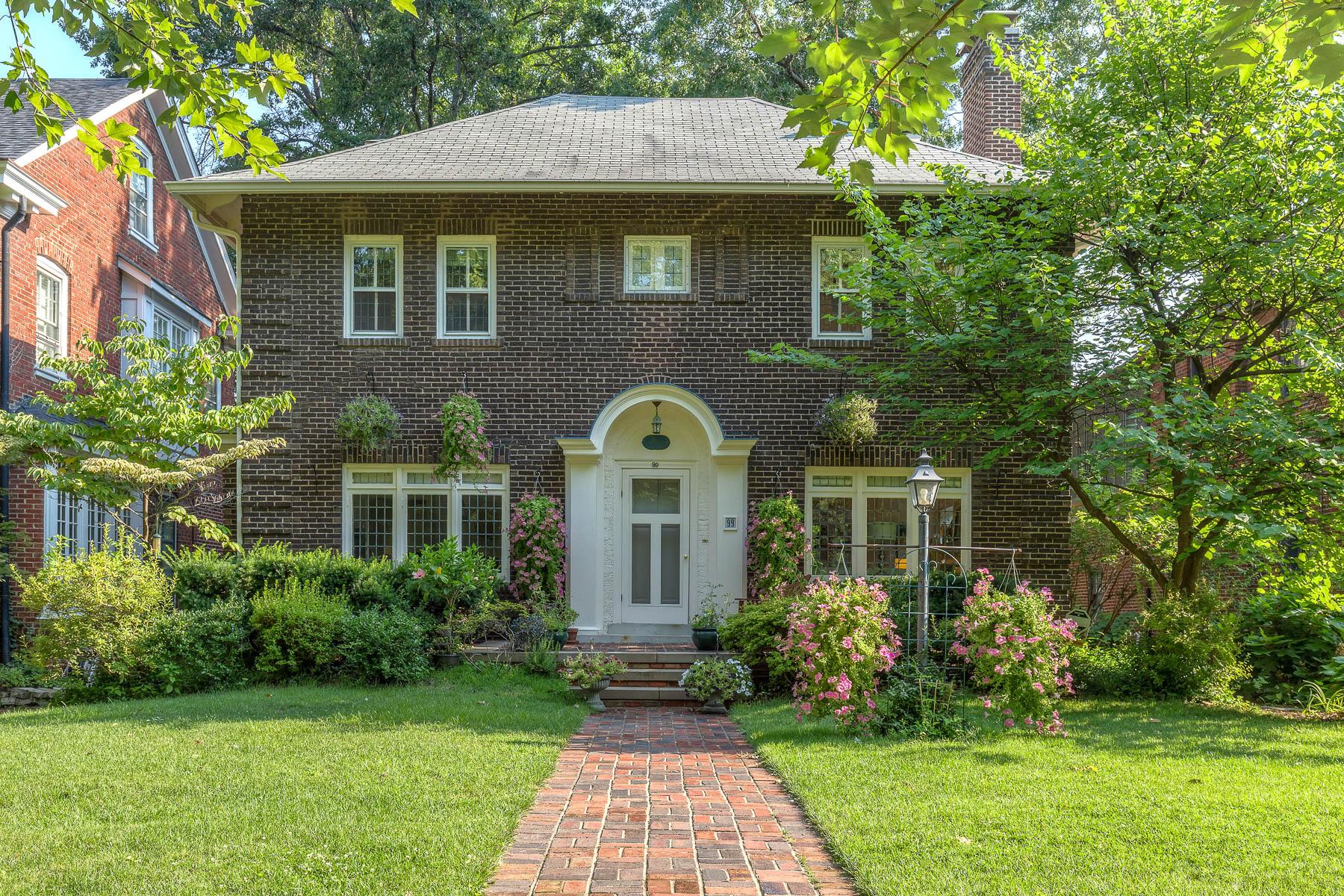 Casa para uma família para Venda às Aberdeen Place 99 Aberdeen Place Clayton, Missouri, 63105 Estados Unidos