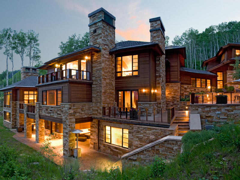 단독 가정 주택 용 매매 에 Slopeside Sophistication 74 White Pine Canyon Rd Park City, 유타 84060 미국