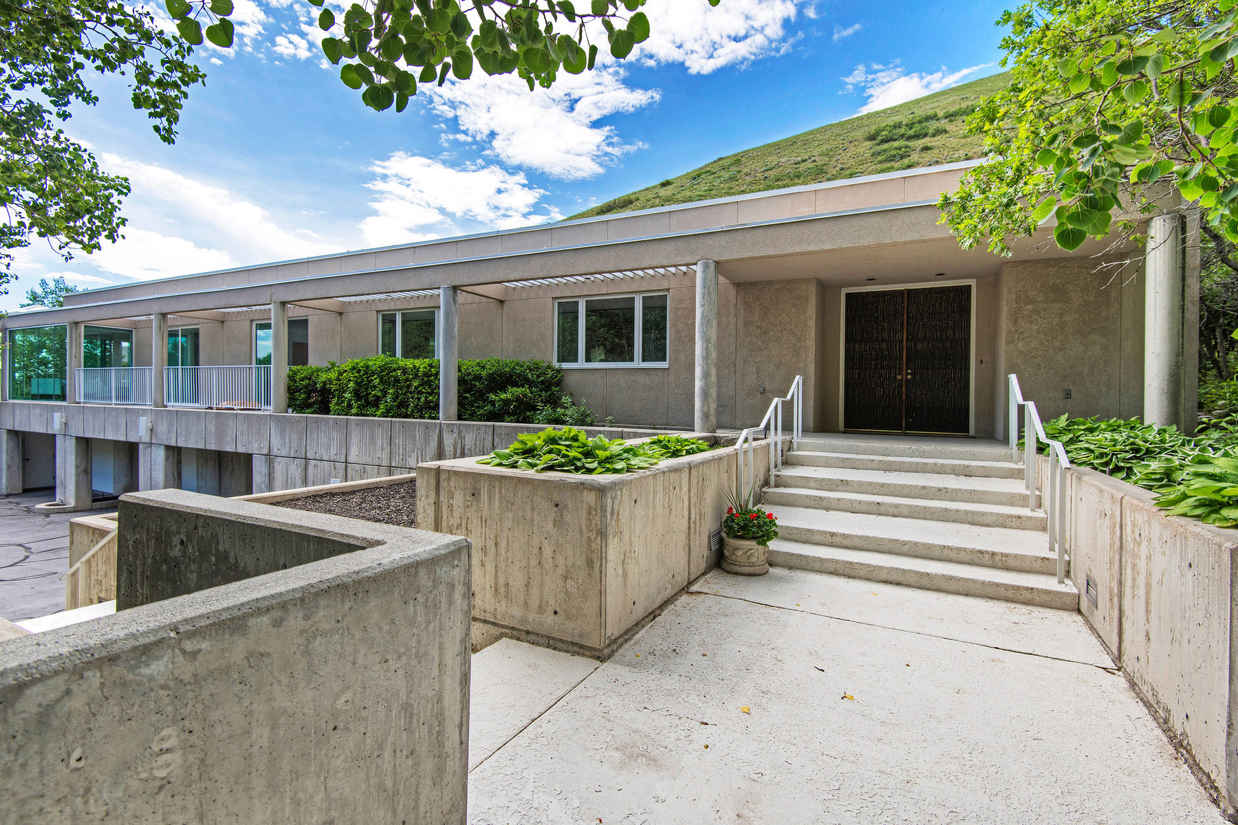Single Family Home for Sale at Contemporary Masterpiece 3081 E Carrigan Canyon Dr Salt Lake City, Utah 84109 United States