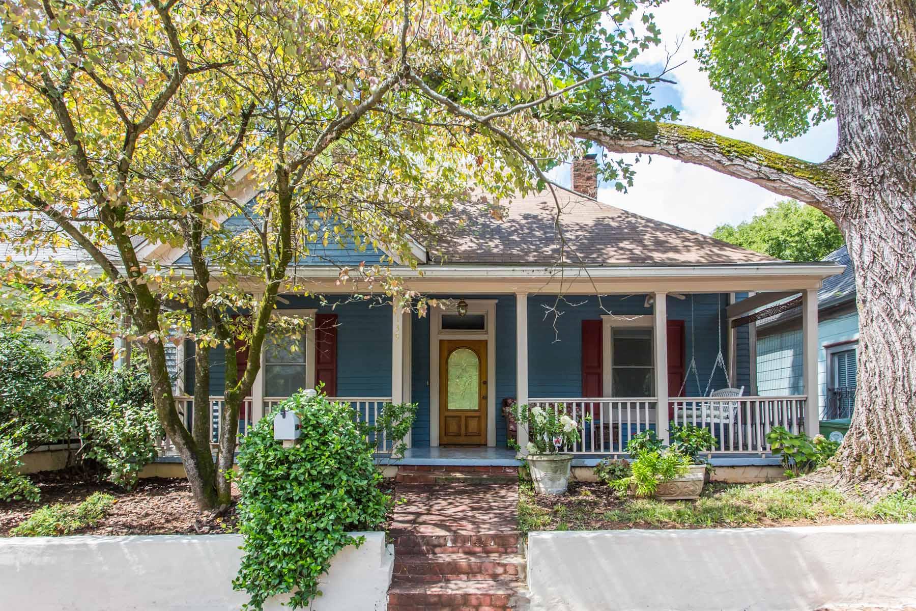 Einfamilienhaus für Verkauf beim Charming Center Hall Craftsman 139 Estoria Street SE Cabbagetown, Atlanta, Georgia 30316 Vereinigte Staaten