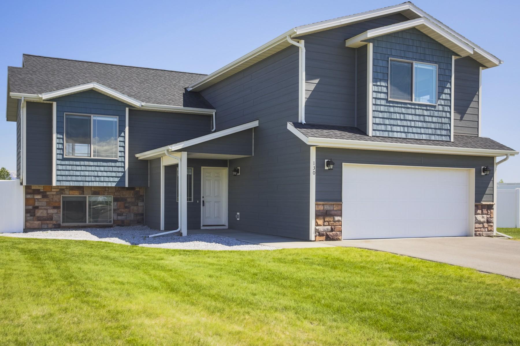 Частный односемейный дом для того Продажа на 130 Snowcrest Court Kalispell, Монтана 59901 Соединенные Штаты