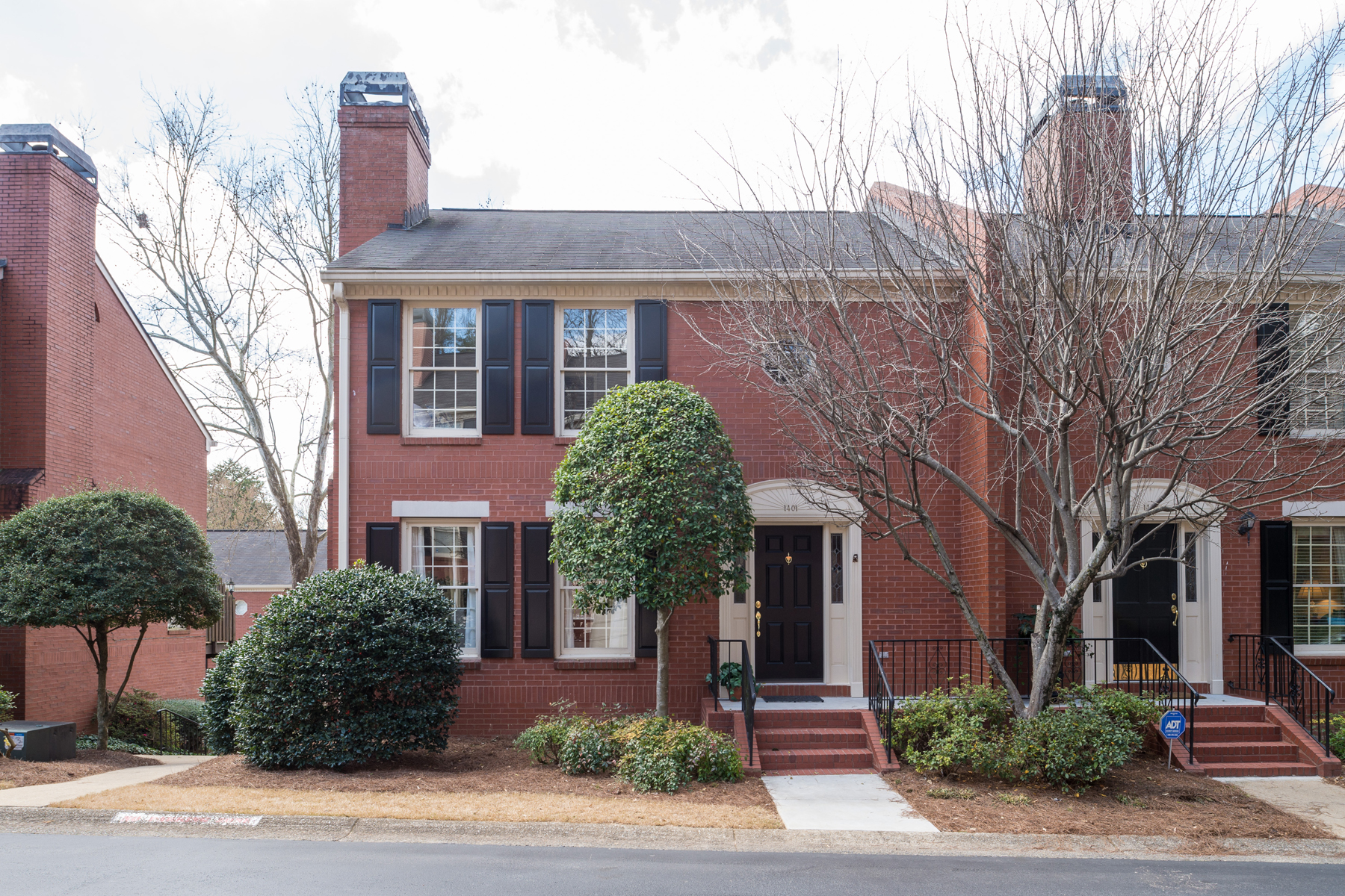 Townhouse for Sale at Completely Renovated Buckhead Townhome 1401 Defoors Mill Drive NW Atlanta, Georgia, 30318 United States