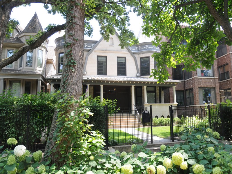 Single Family Home for Sale at Rare Graceland West Home 4151 N Greenview Avenue Lakeview, Chicago, Illinois 60613 United States