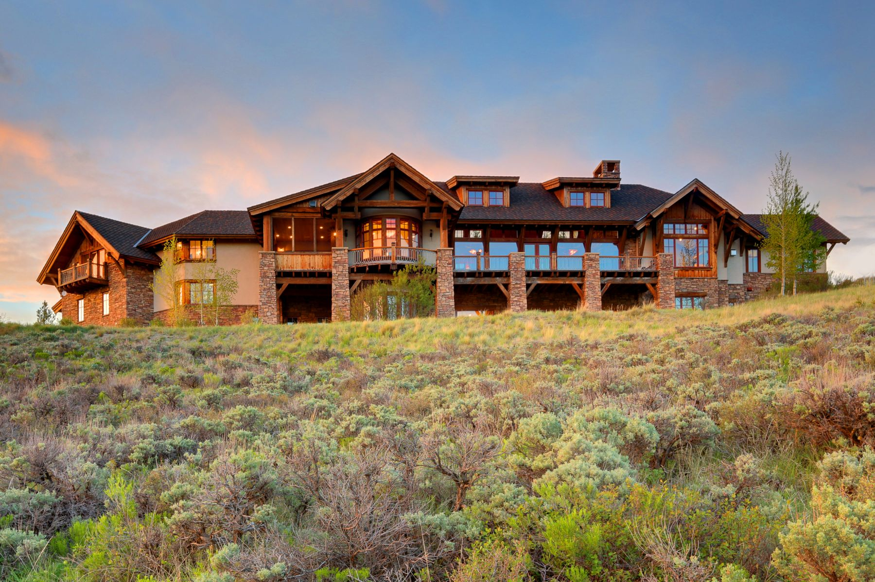 Farm / Ranch / Plantation for Active at Grand Colibri Ranch 4443 County Road 40 Granby, Colorado 80446 United States