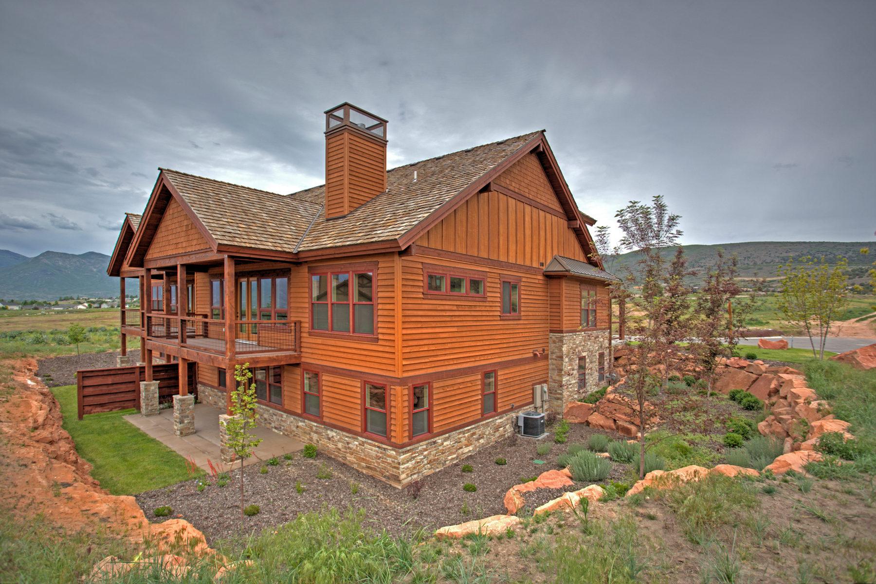 Villa per Vendita alle ore New Construction Priced for Quick Sale 1664 E Abajo Peak Way #17 Heber City, Utah 84032 Stati Uniti