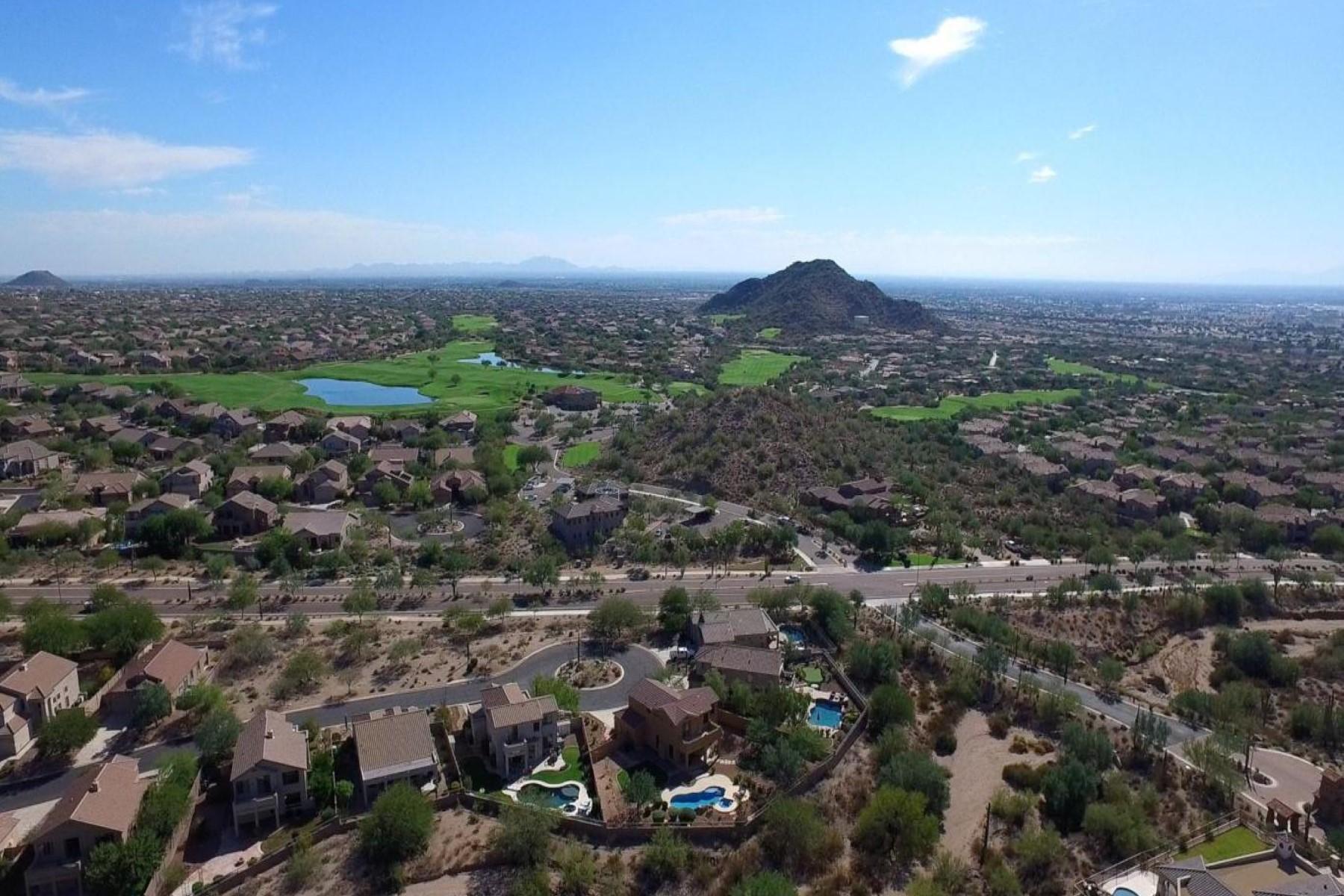 Maison unifamiliale pour l Vente à luxuriously crafted custom masterpiece 7421 E Forest Trail Circle Mesa, Arizona, 85207 États-Unis