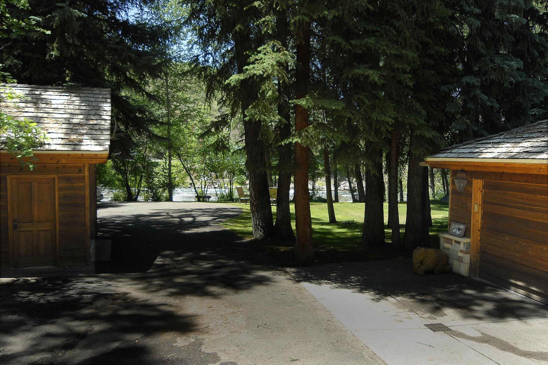 Moradia para Venda às Fisherman's Fantasy in Aspen 179 Liberty Lane Woody Creek, Colorado, 81656 Estados Unidos