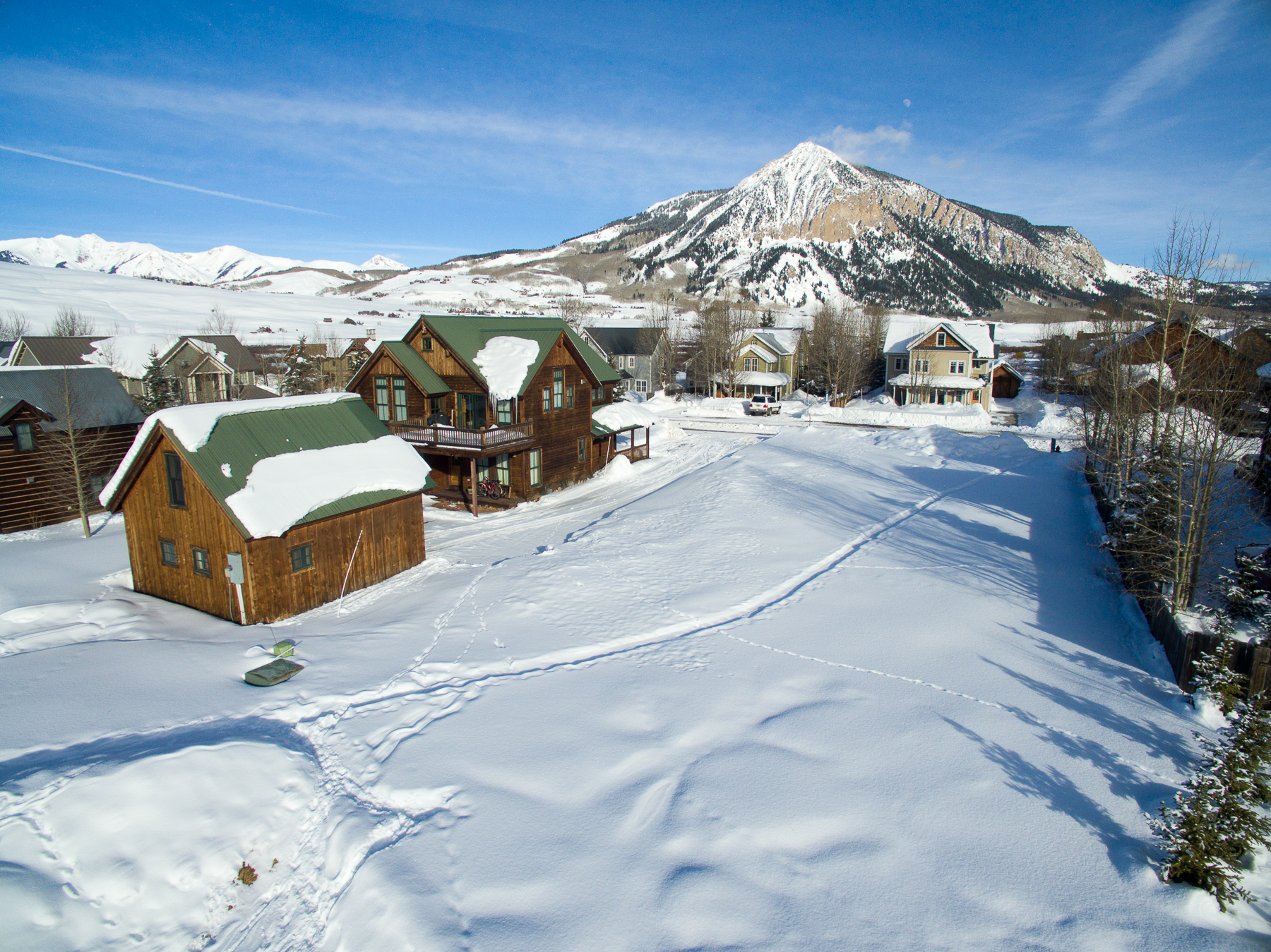 Land for Sale at Coveted Location on Edge of Town 11 Ruths Road Crested Butte, Colorado, 81224 United States