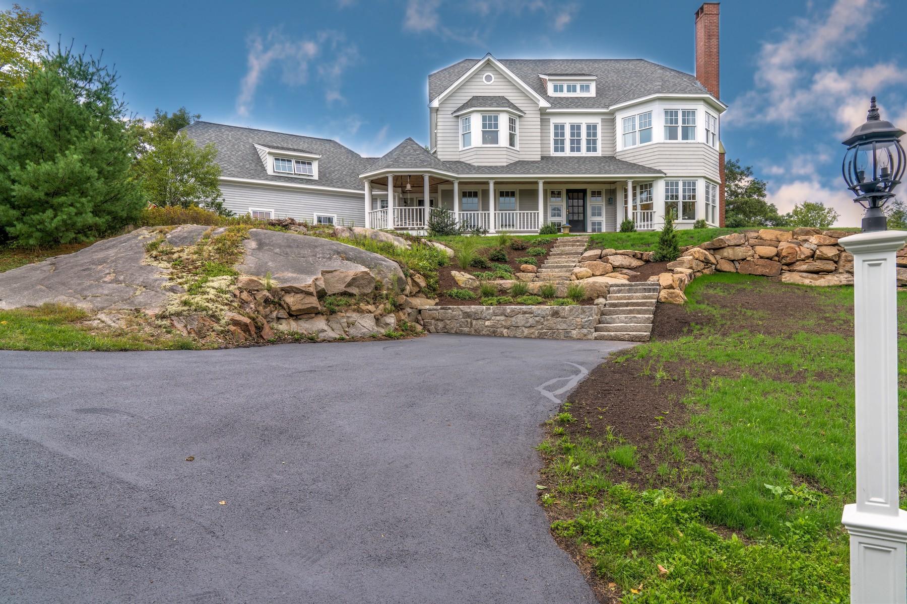 sales property at Custom Hilltop Shingle Style