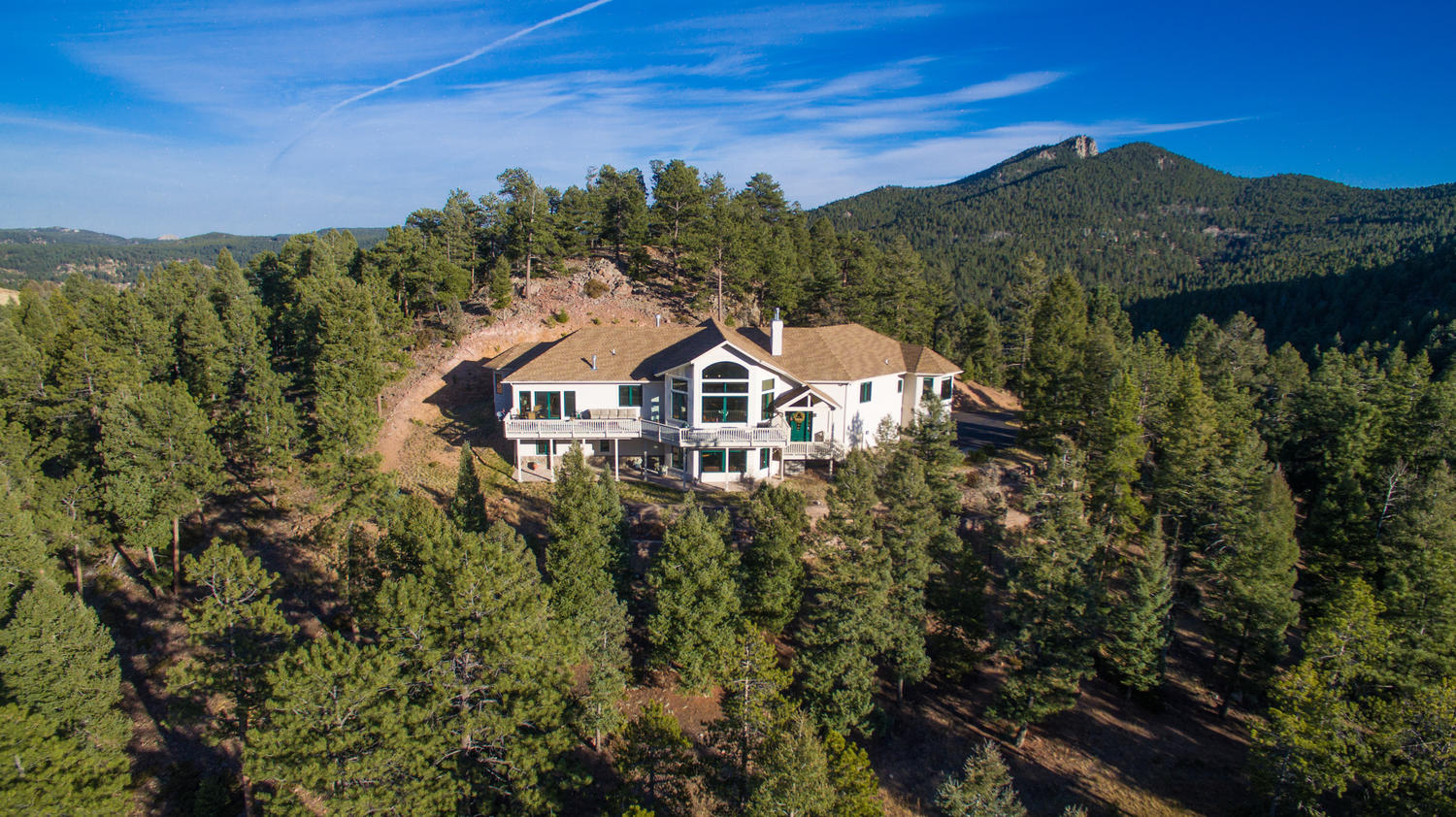 Single Family Home for Sale at Conifer Ridge Beauty 26451 Longview Drive Conifer, Colorado, 80433 United States