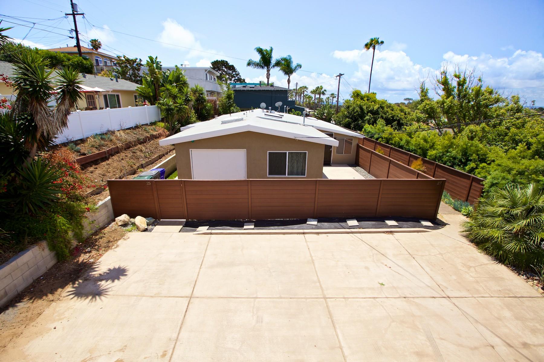 Duplex por un Venta en 25-27 Briggs Encinitas, California 92024 Estados Unidos