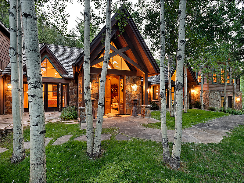 Single Family Home for Sale at Maroon Creek Club 86 Meadow Lane Aspen, Colorado 81611 United States