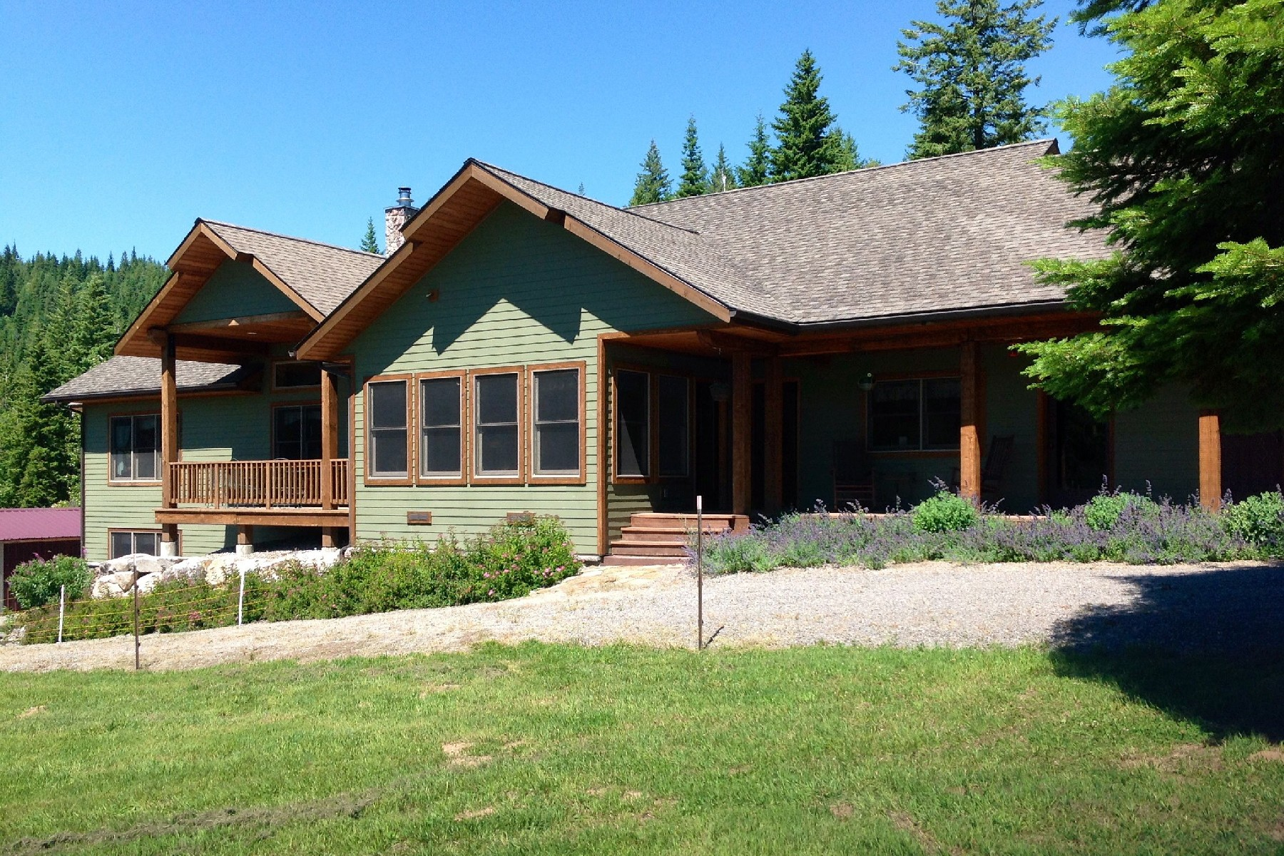 Single Family Home for Sale at Trout Creek Ranch Road 0 Trout Creek Ranch Road Sandpoint, Idaho 83864 United States