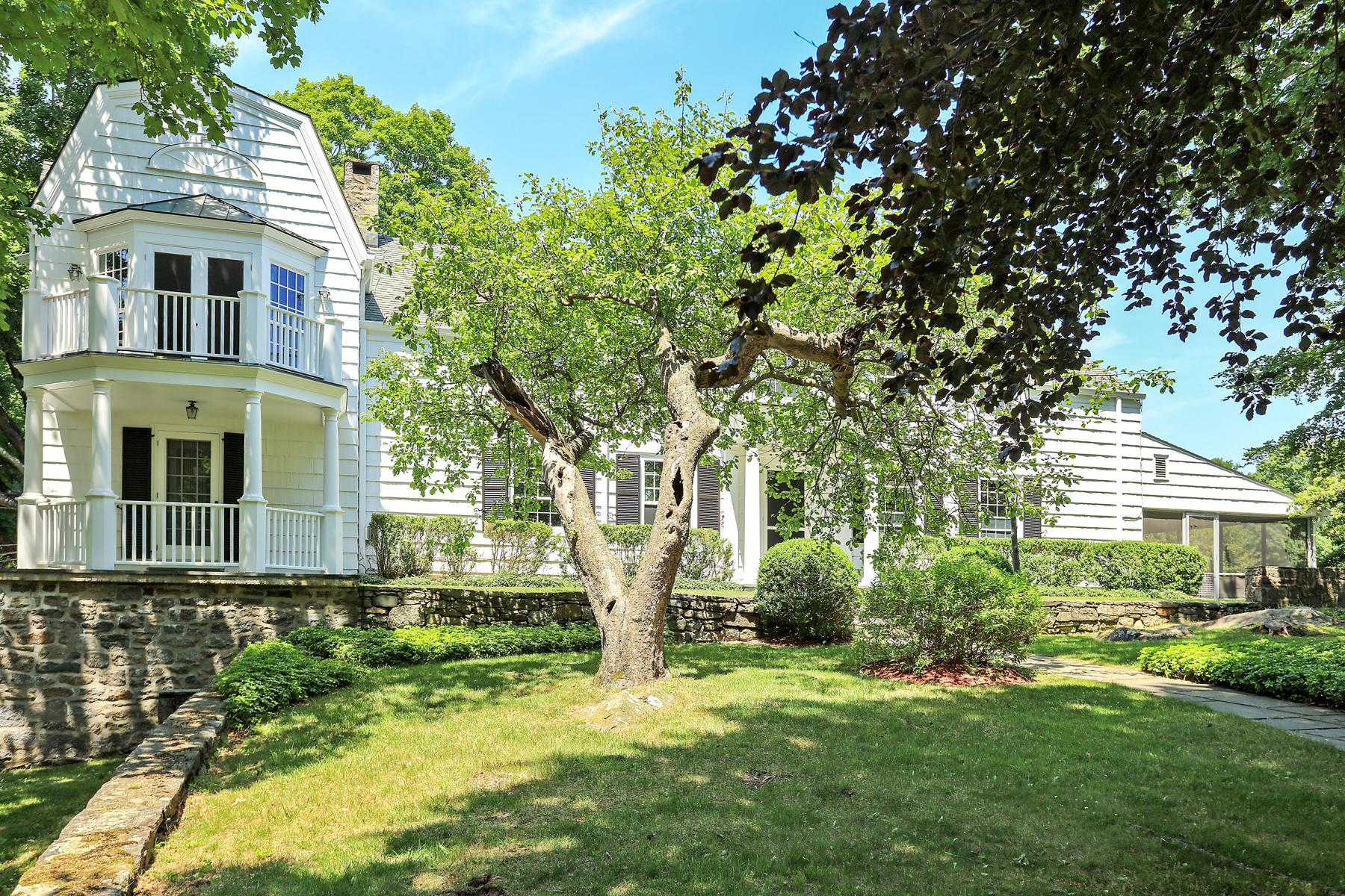 Maison unifamiliale pour l Vente à Bedford Farmhouse 88 east middle patent road Bedford, New York, 10506 États-Unis